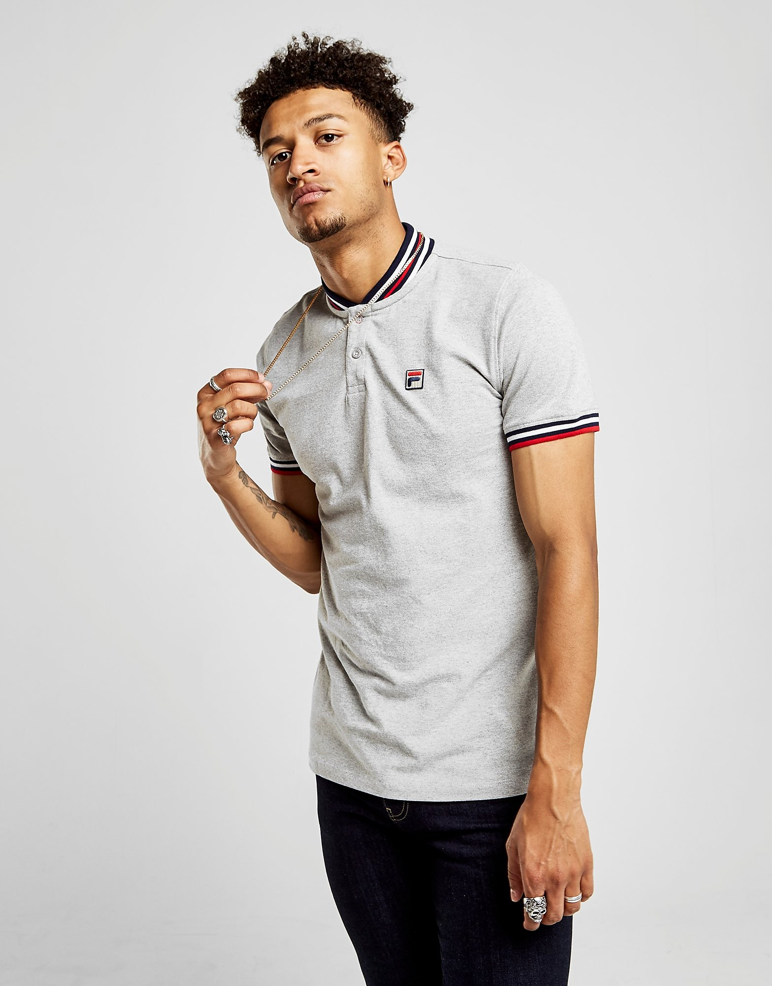 Fila Skipper Rib Neck T-Shirt Homme