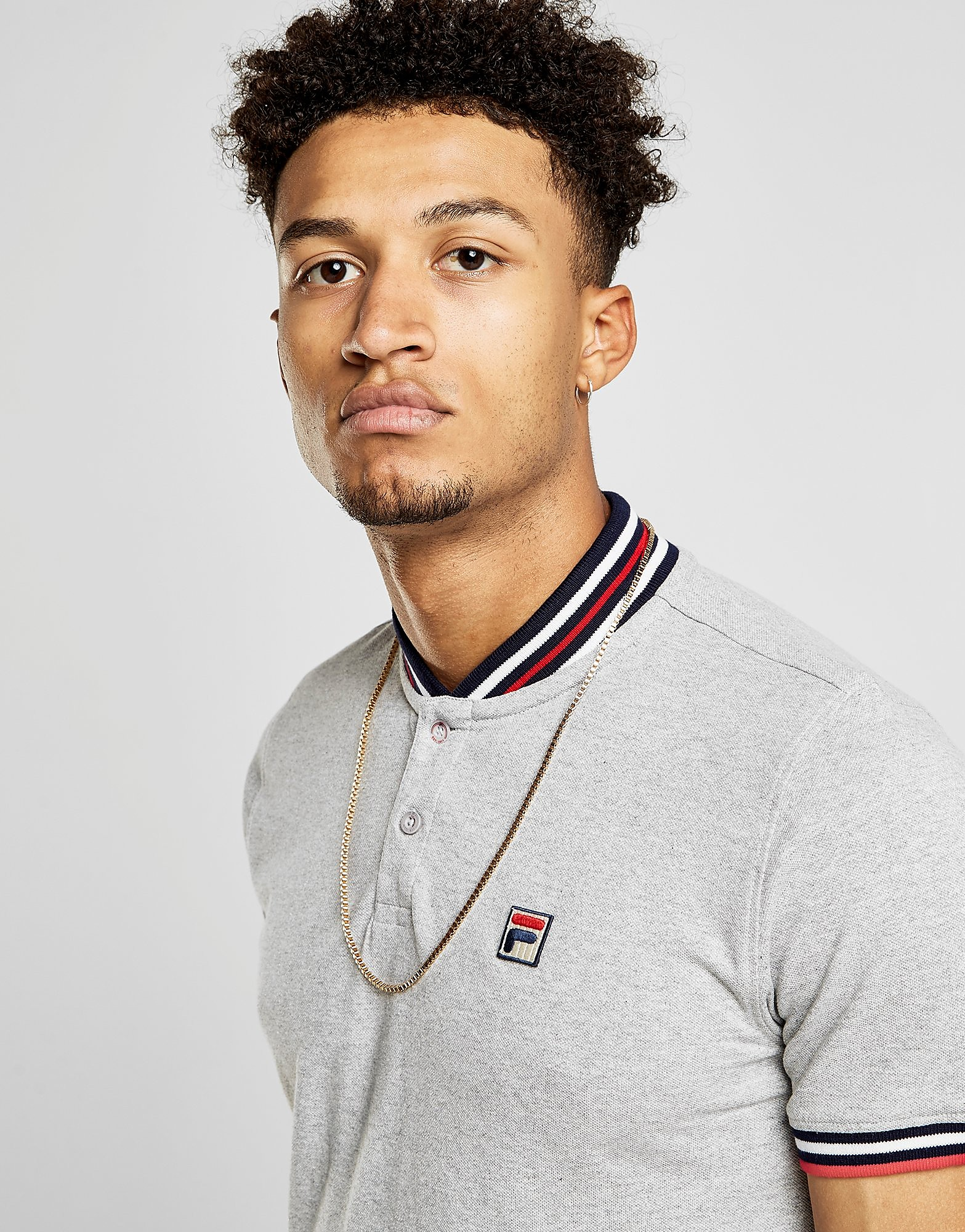Fila Skipper Rib Neck T-Shirt