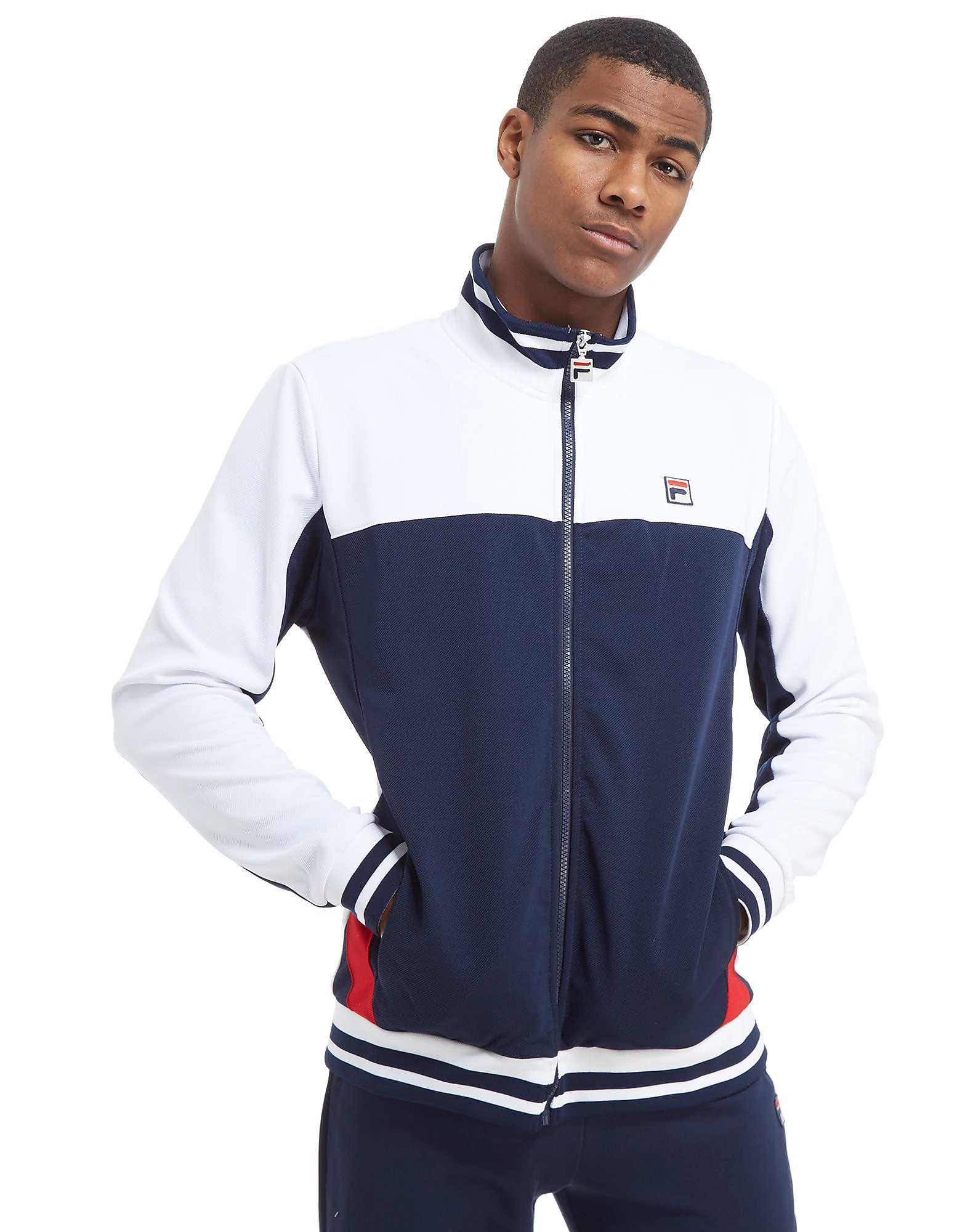 Fila Tiebreaker Funnel Neck Track Top Heren