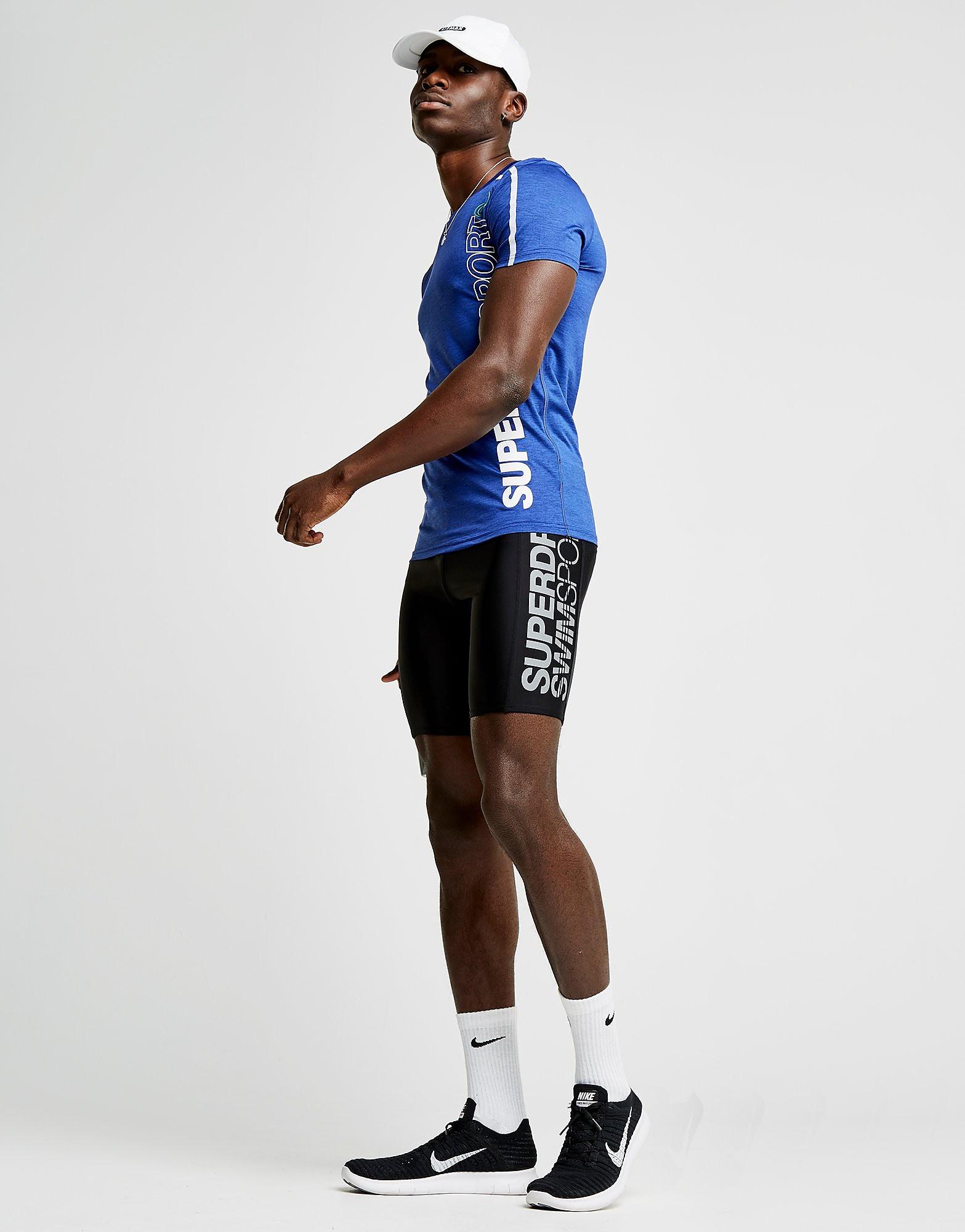 Superdry Sport Logo Swim Shorts