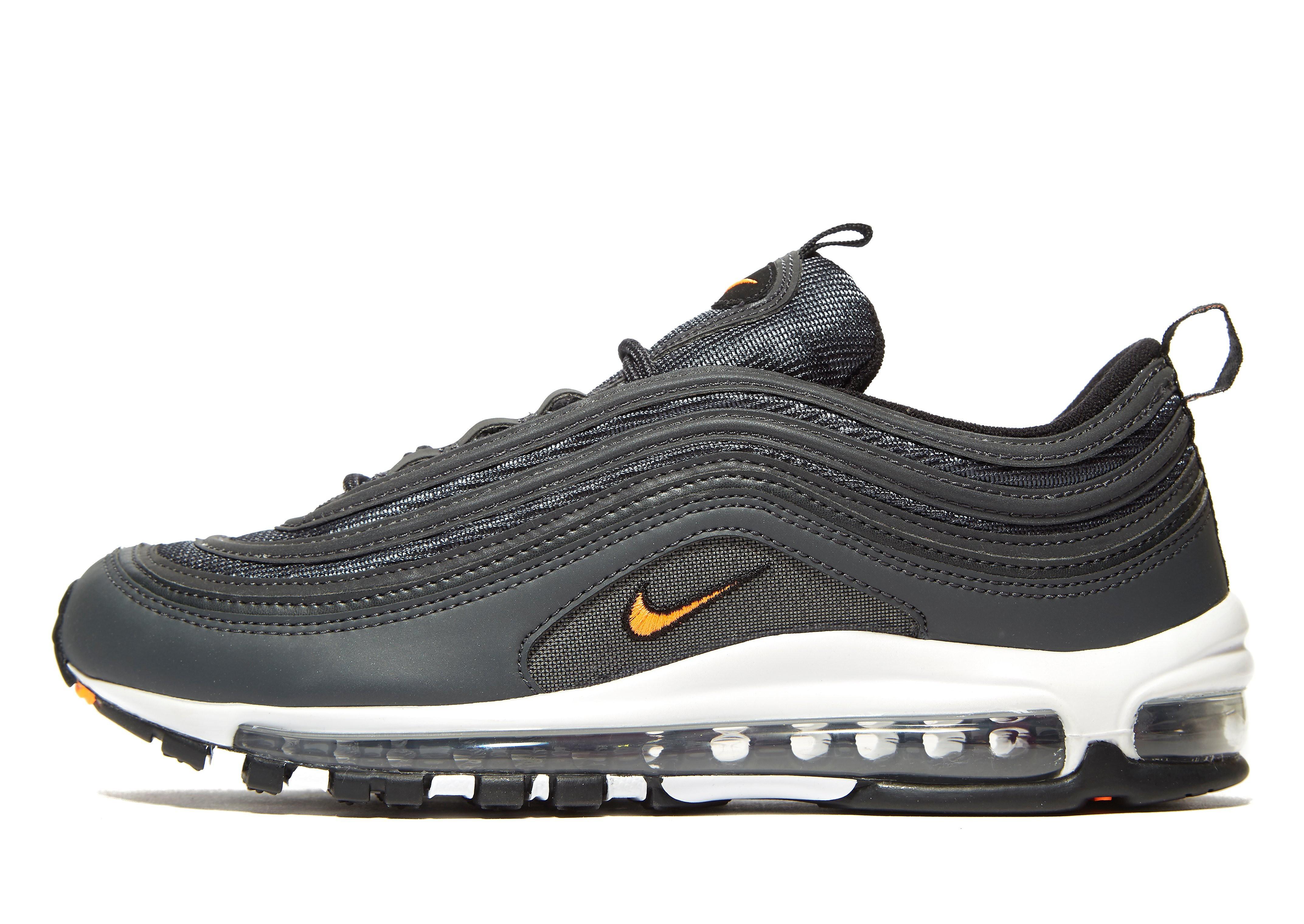 Nike Air Max 97 OG - Grey/White/Black - Mens, Grey/White/Black