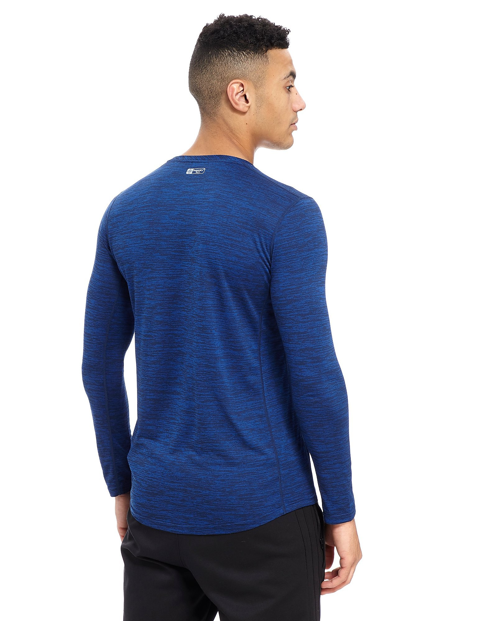 Superdry Sport Long Sleeve Poly Training Top