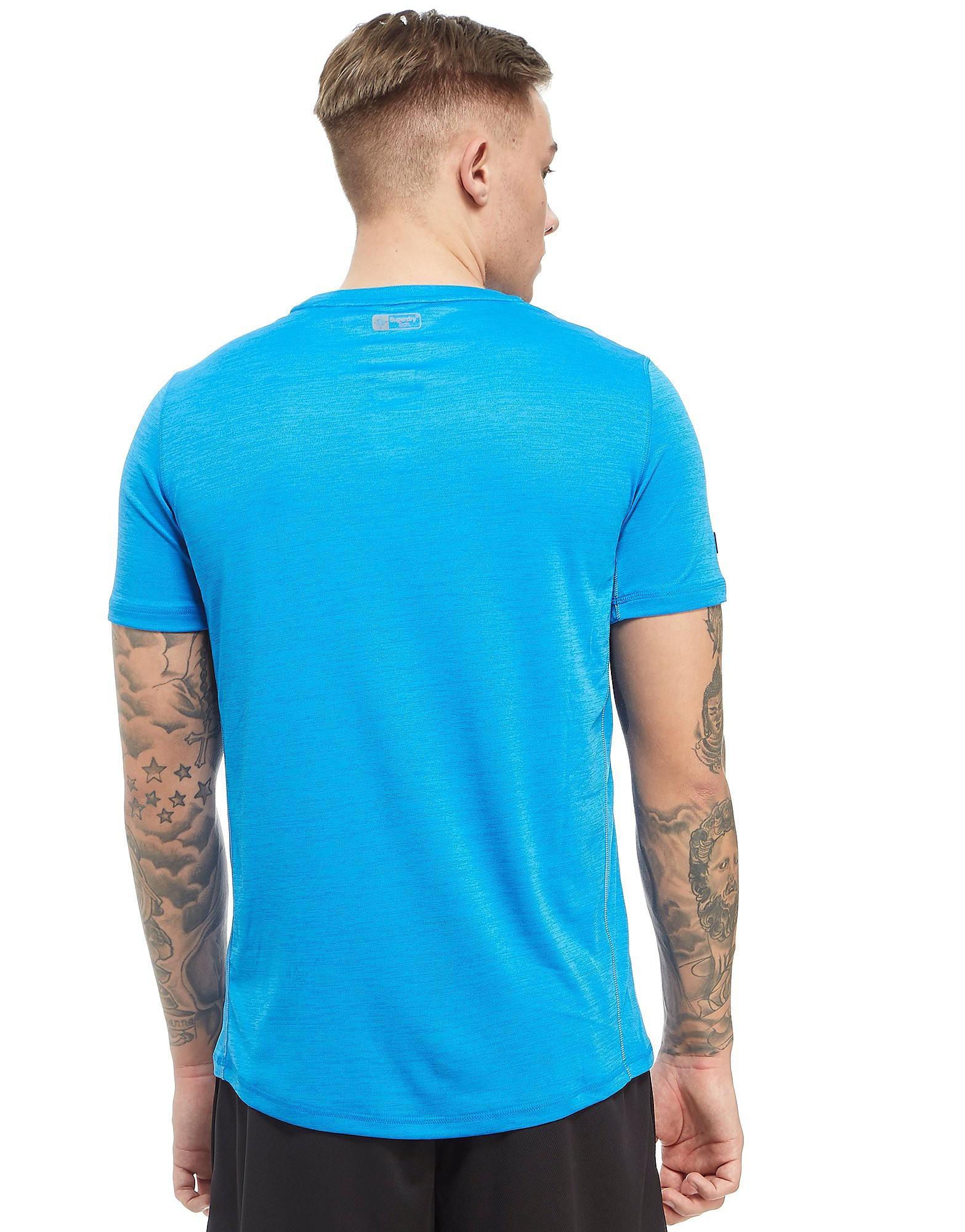 Superdry Sport Training Poly T-Shirt Heren