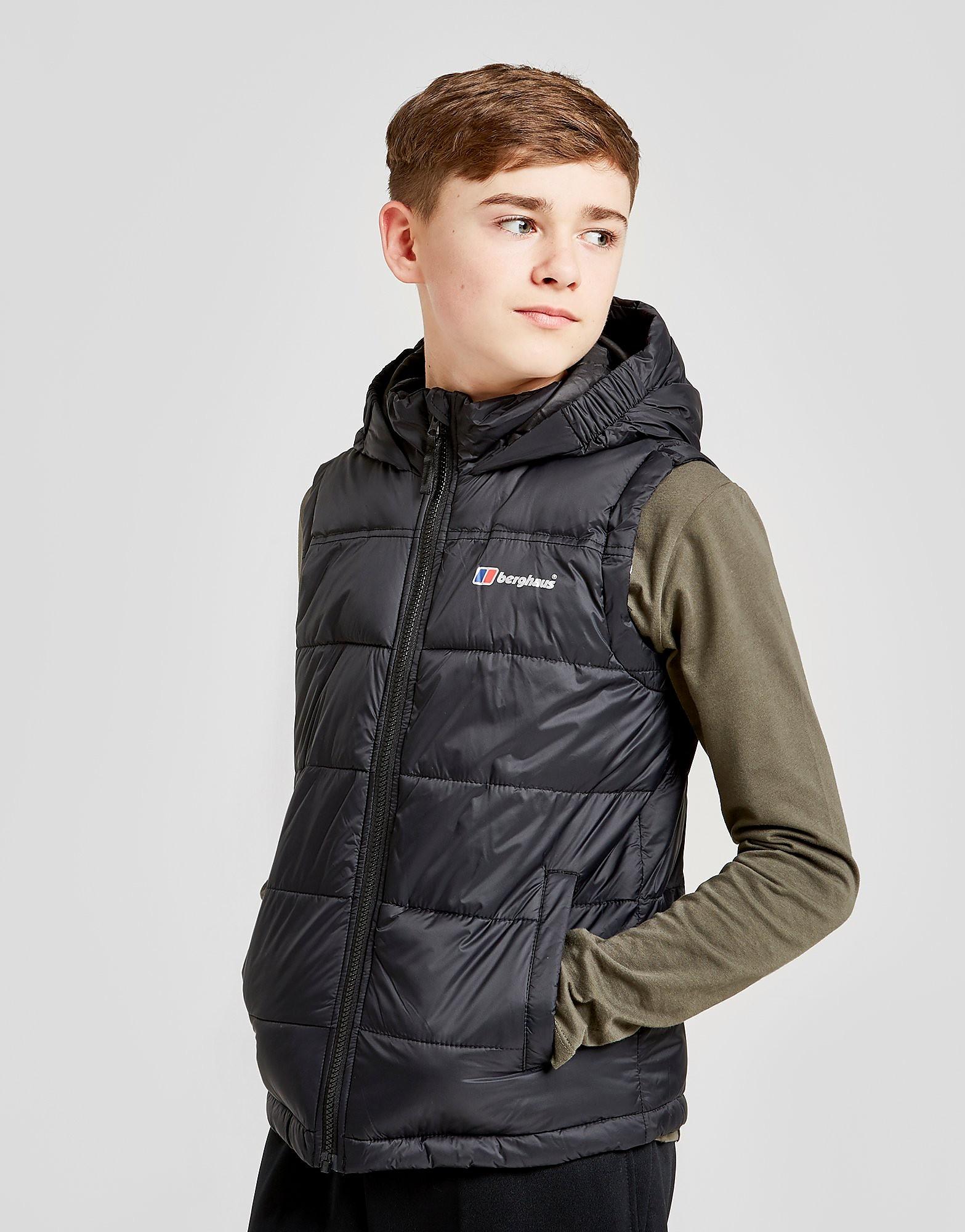 82ae7538e846 Berghaus Burham Gilet Junior Zwart Kind - Shop via Sportwinkel ...