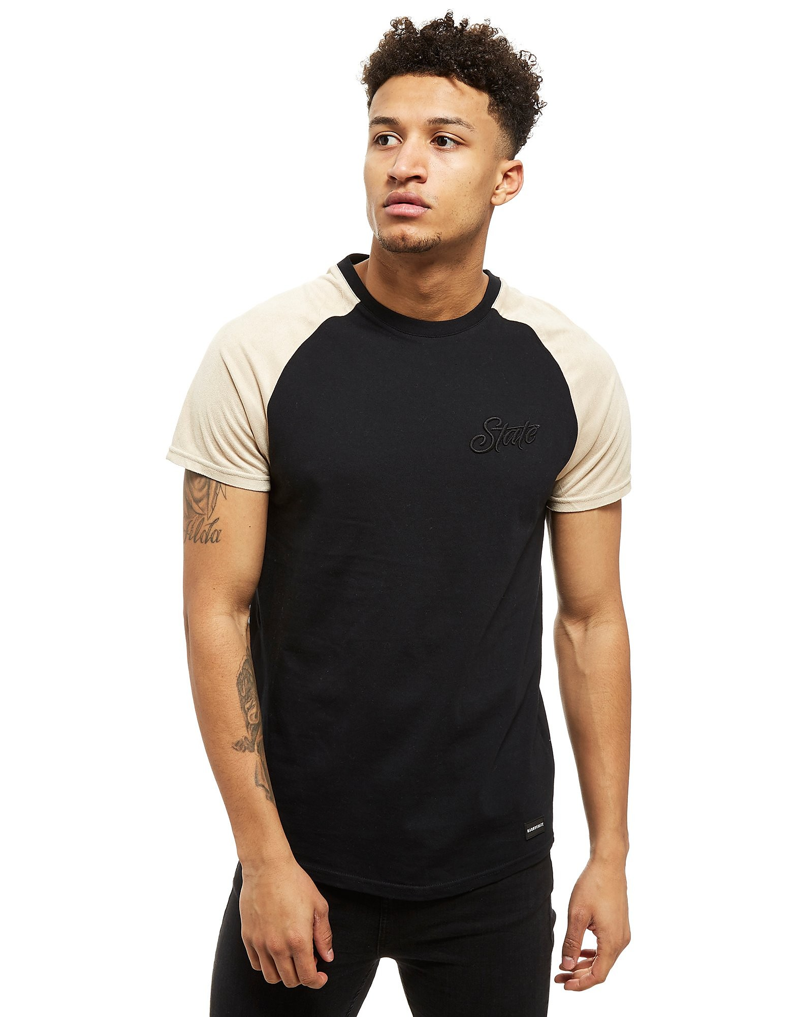 Nanny State T-shirt Suede Raglan Homme