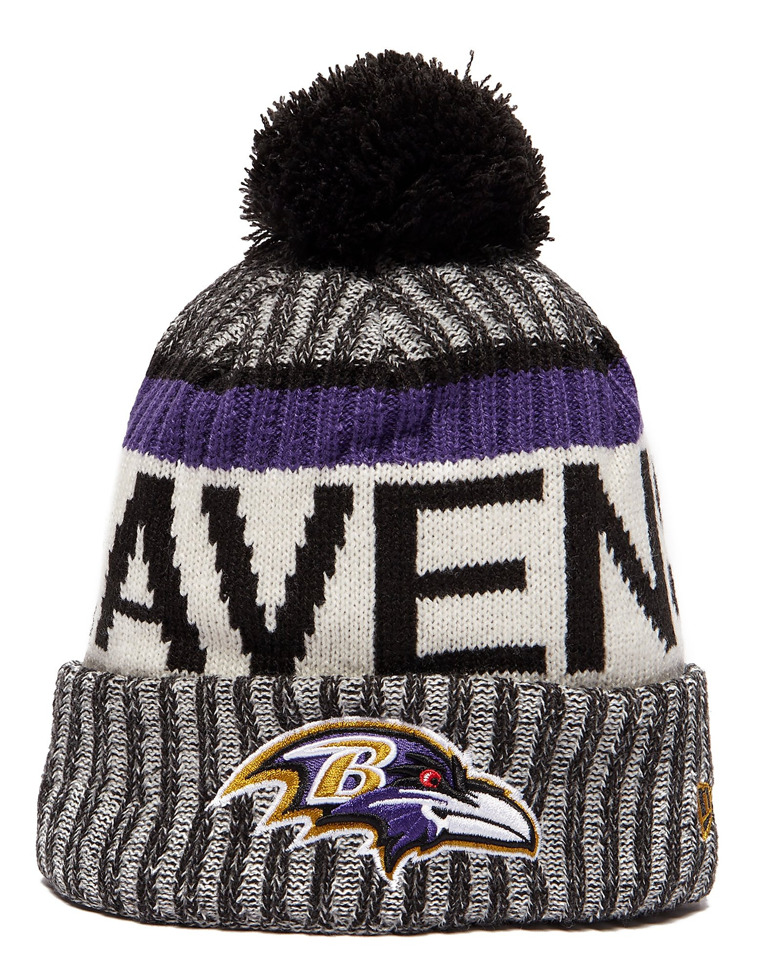 New Era Baltimore Ravens Sideline Knitted Hat