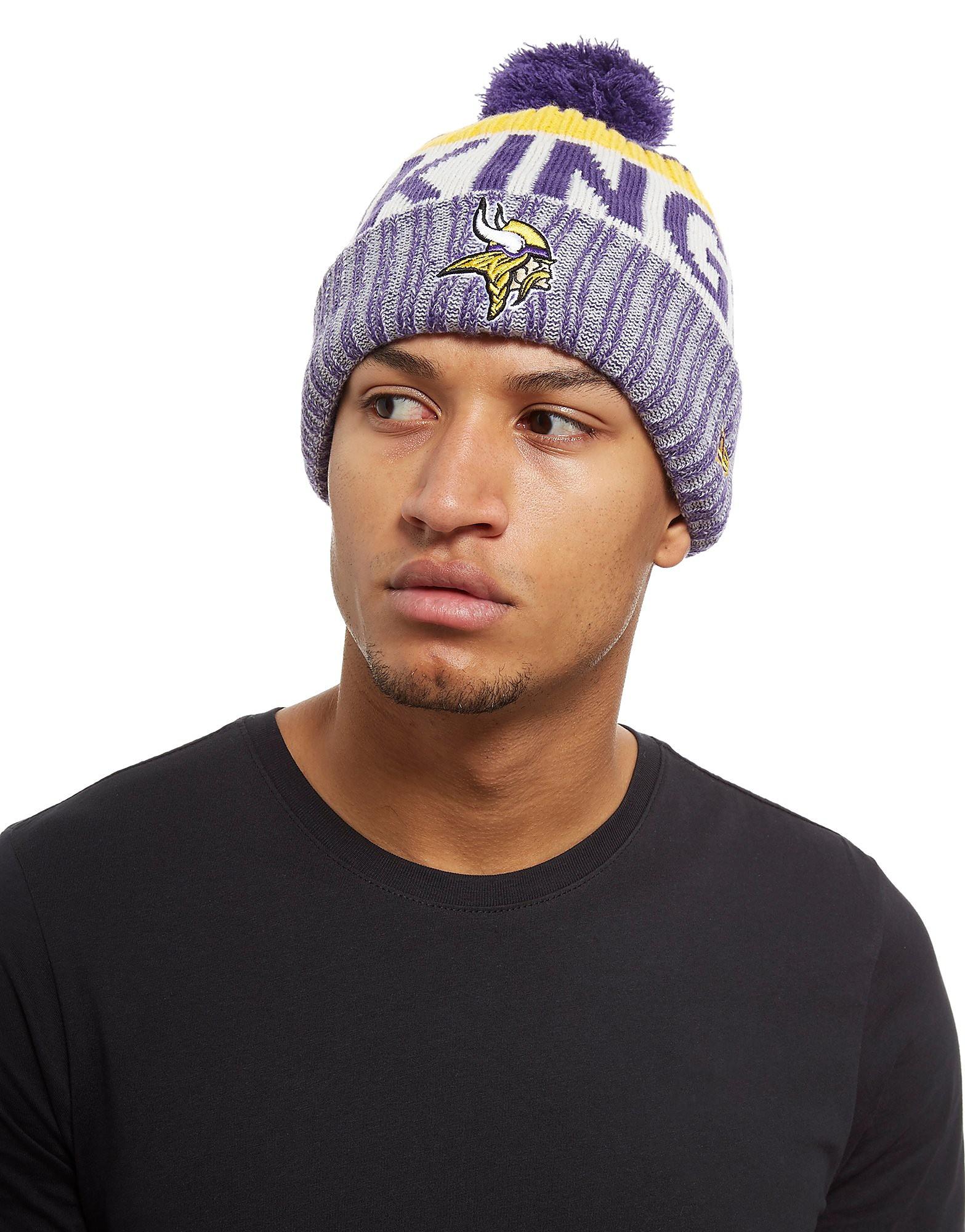 New Era Minnesota Vikings Sideline Strick Mütze