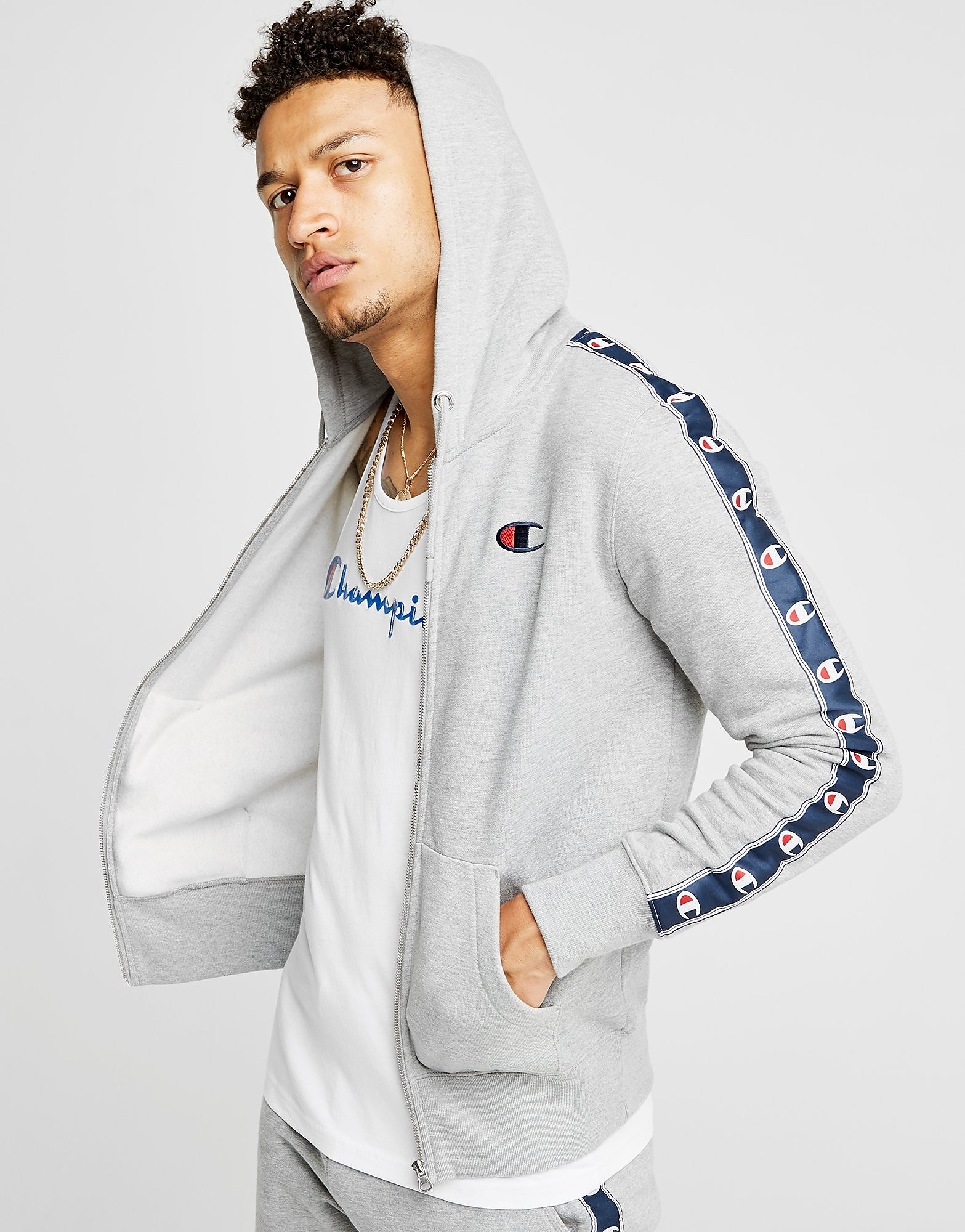 Champion Sweat Tape Full Zip Homme