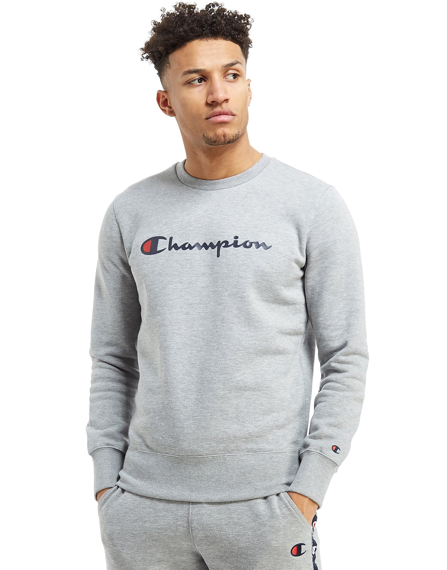 Champion Sweat Script Crew Homme