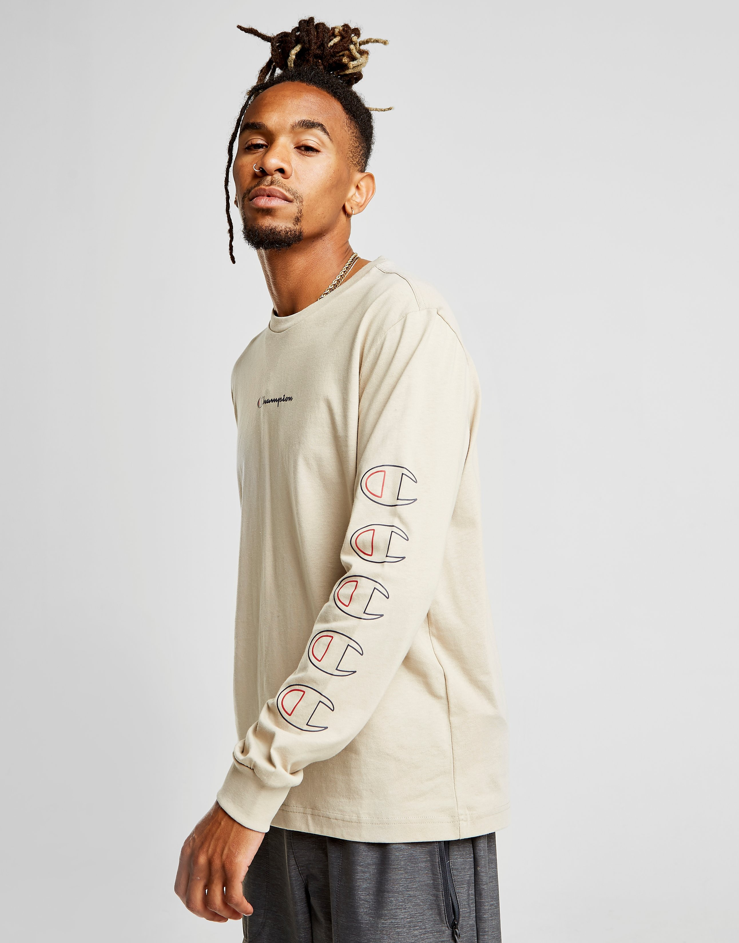 Champion Repeat Long Sleeve T-Shirt