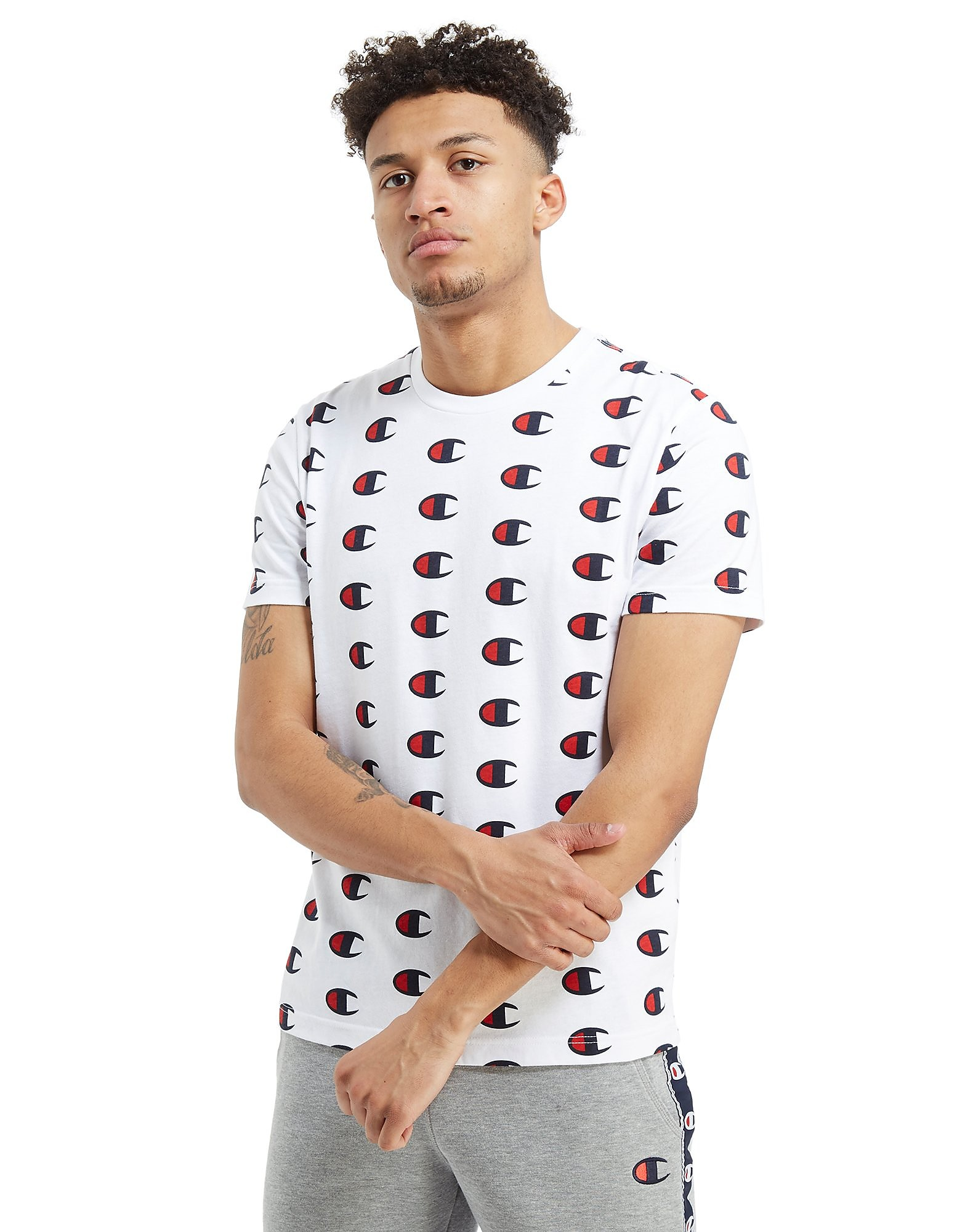 Champion T-shirt All Over Print Homme