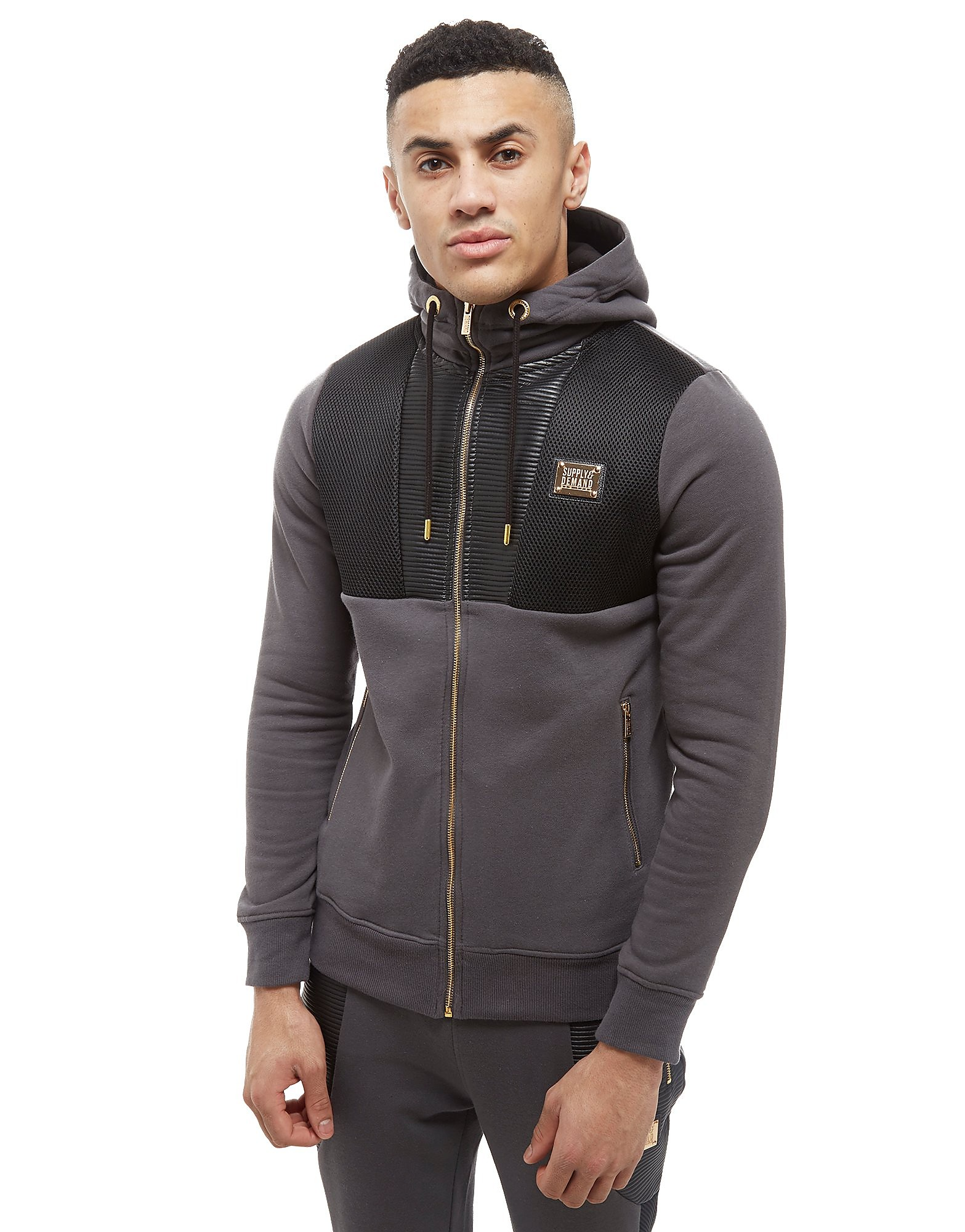 Supply & Demand Lorenzo Hoodie - Only at JD, Grey