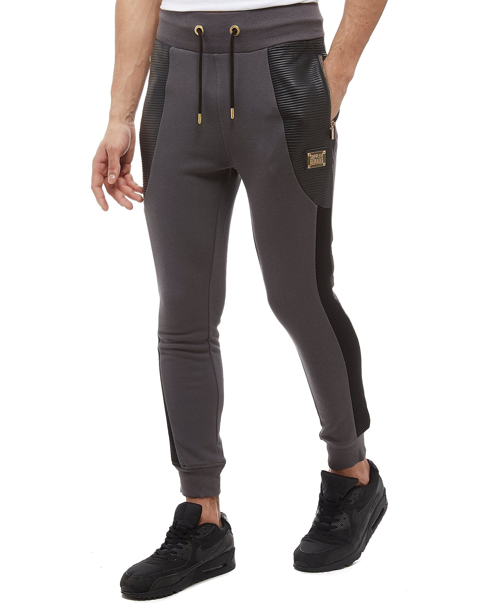 Supply & Demand Lorenzo Brushback Fleece Joggers - Only at JD, Grey