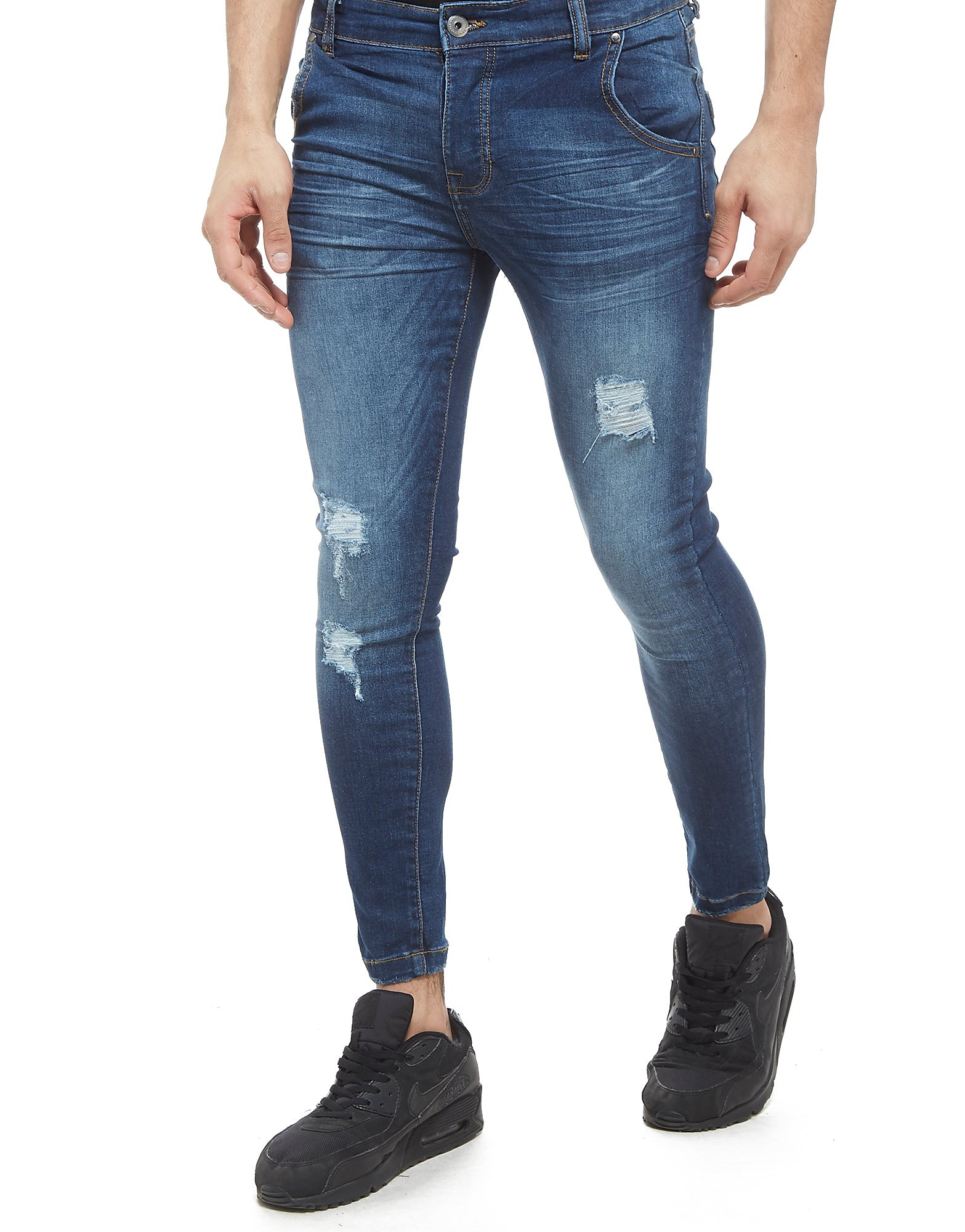 Nanny State Jean Super Skinny Mid Wash Homme