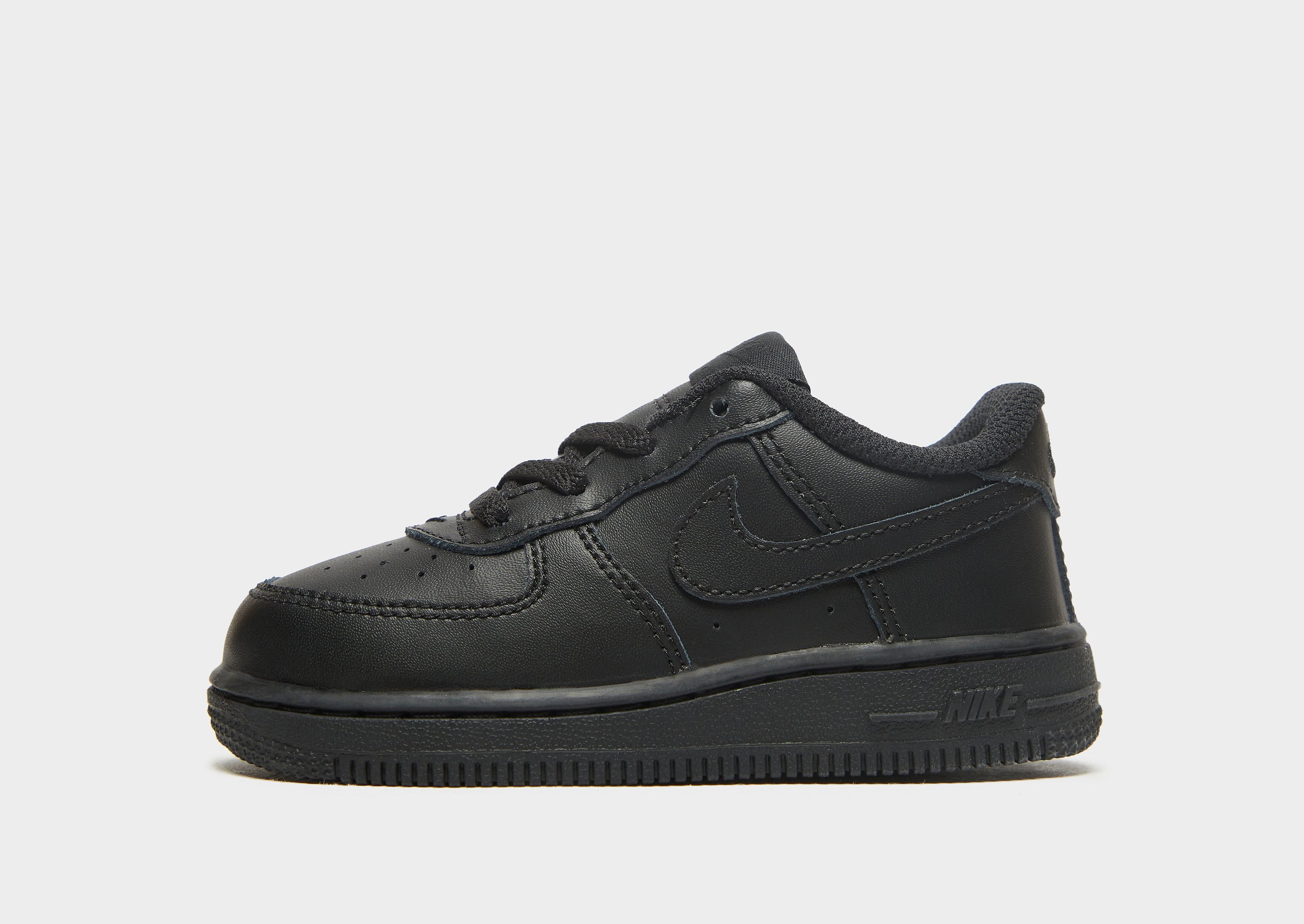 Nike Air Force 1 kindersneaker zwart