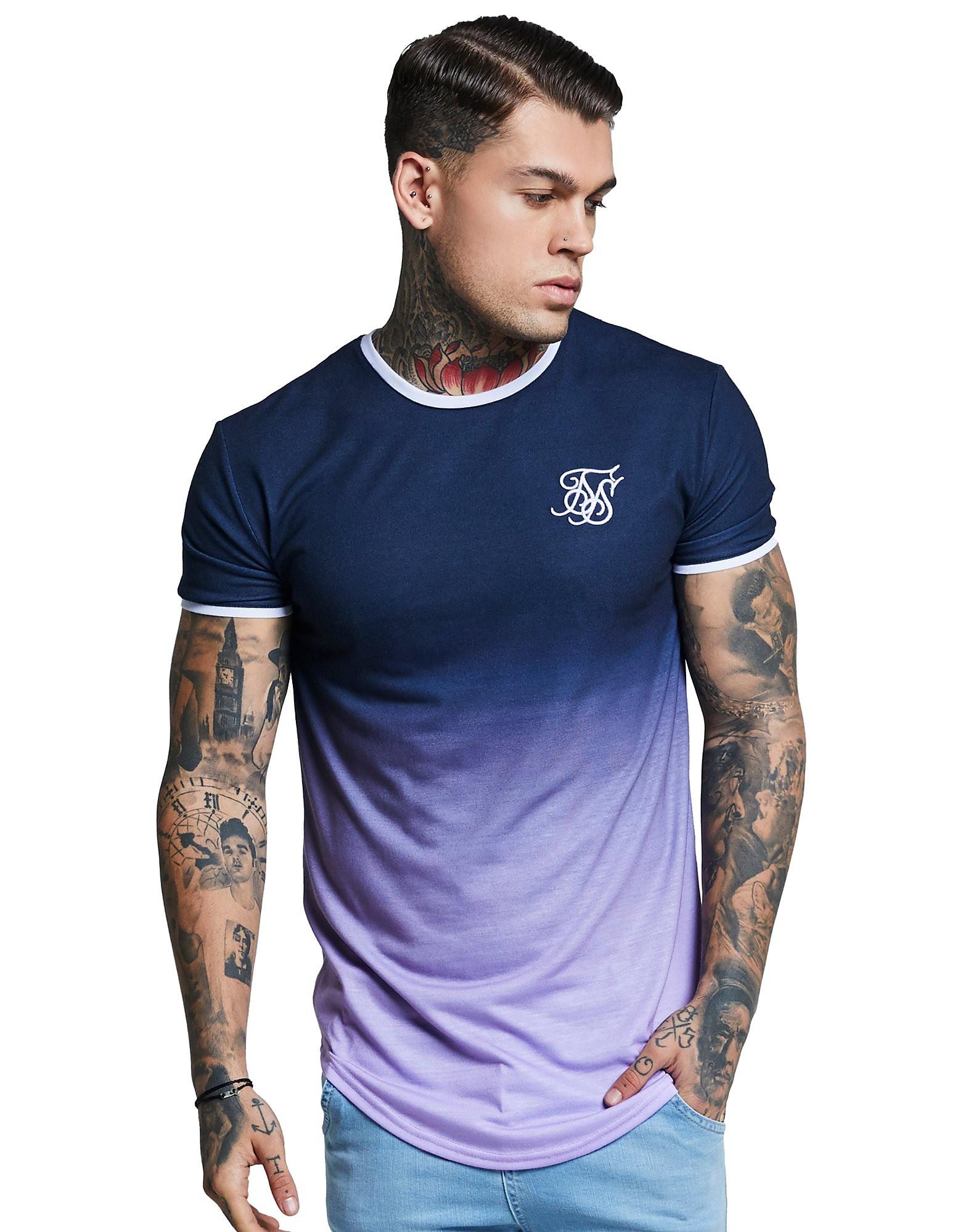 SikSilk camiseta Ringer Fade