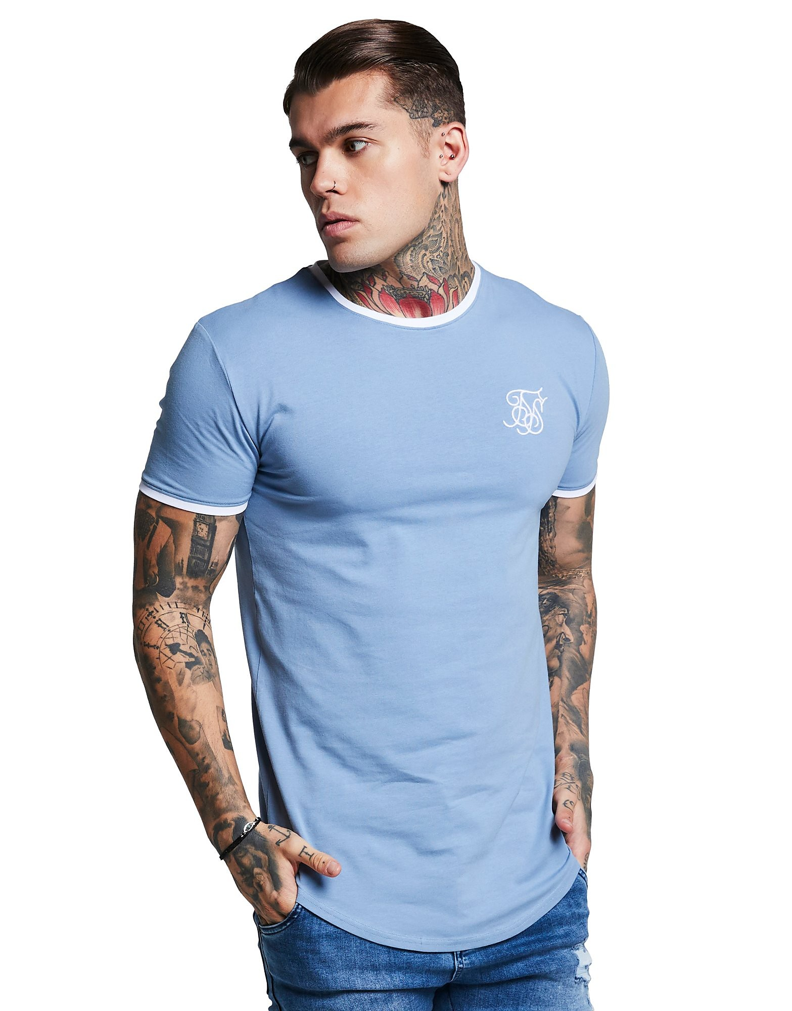 SikSilk camiseta Ringer