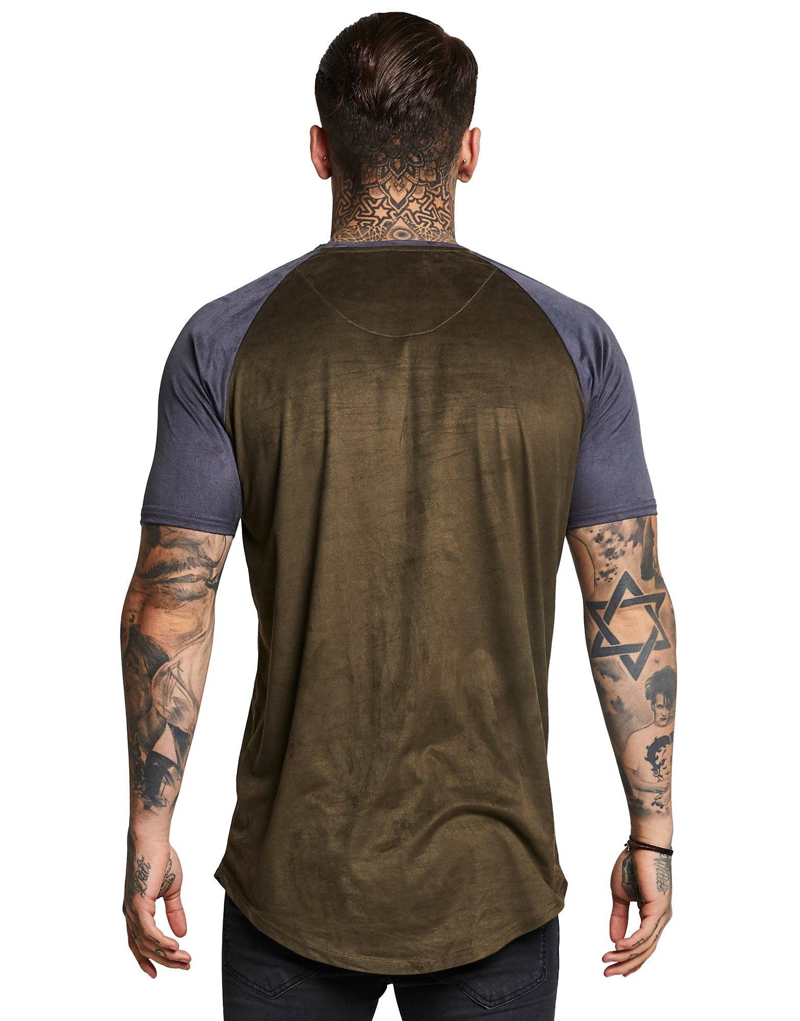 SikSilk Suede T-Shirt