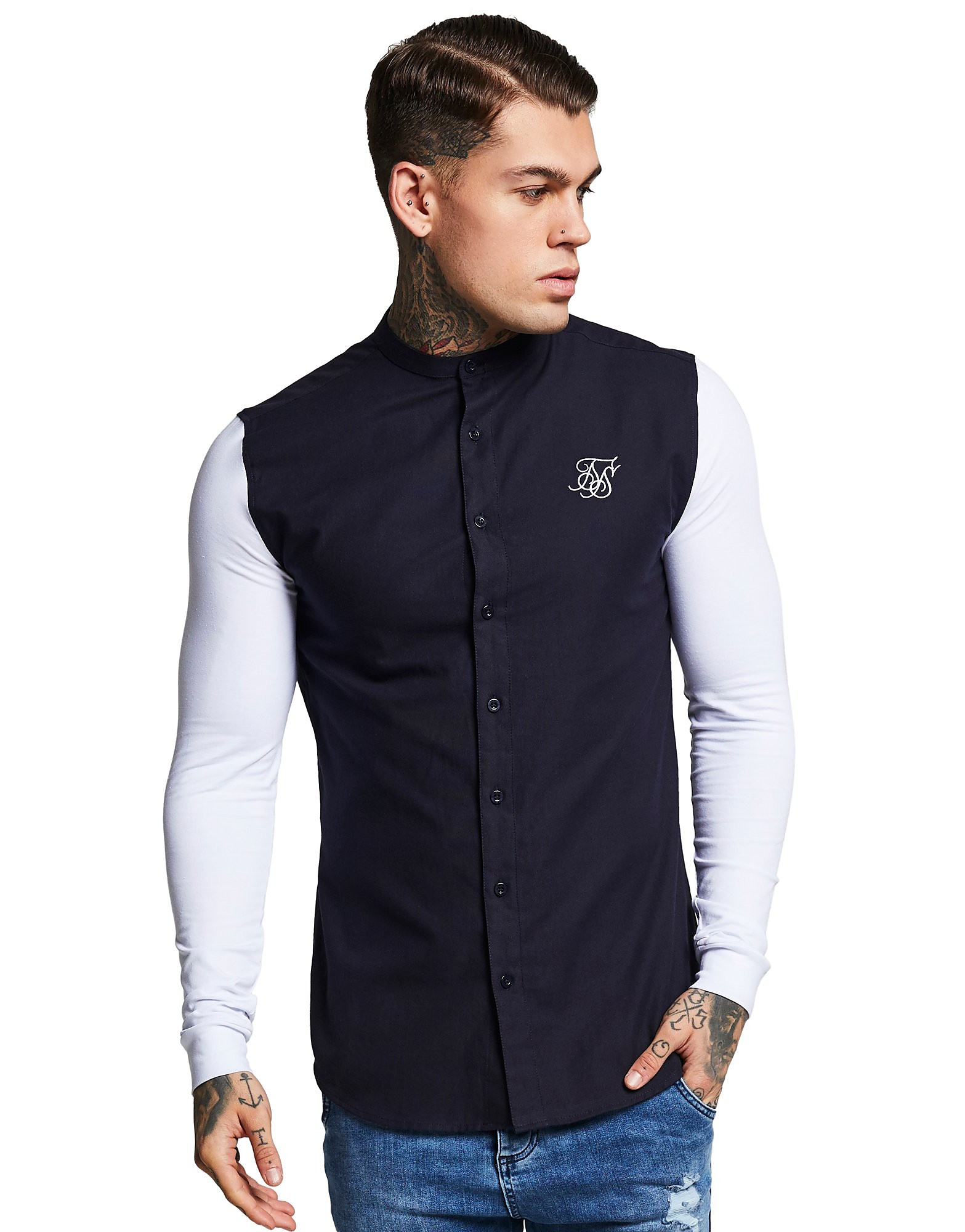 SikSilk camisa Long Sleeve