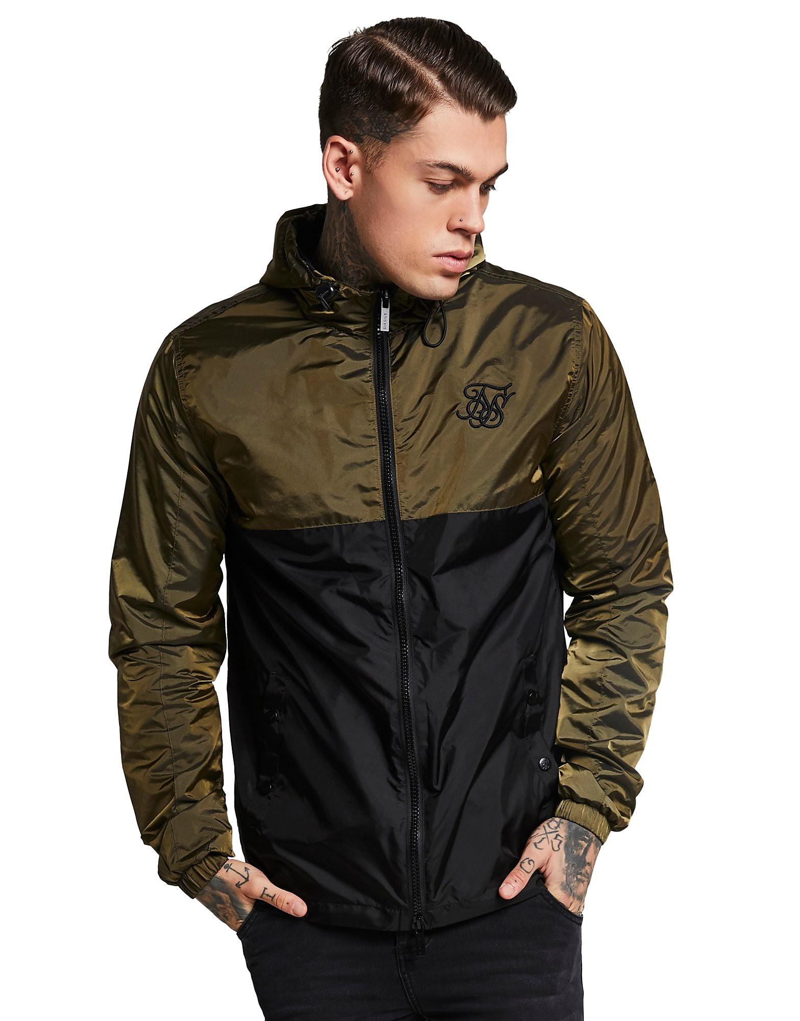 SikSilk chaqueta con capucha Zip Colourblock