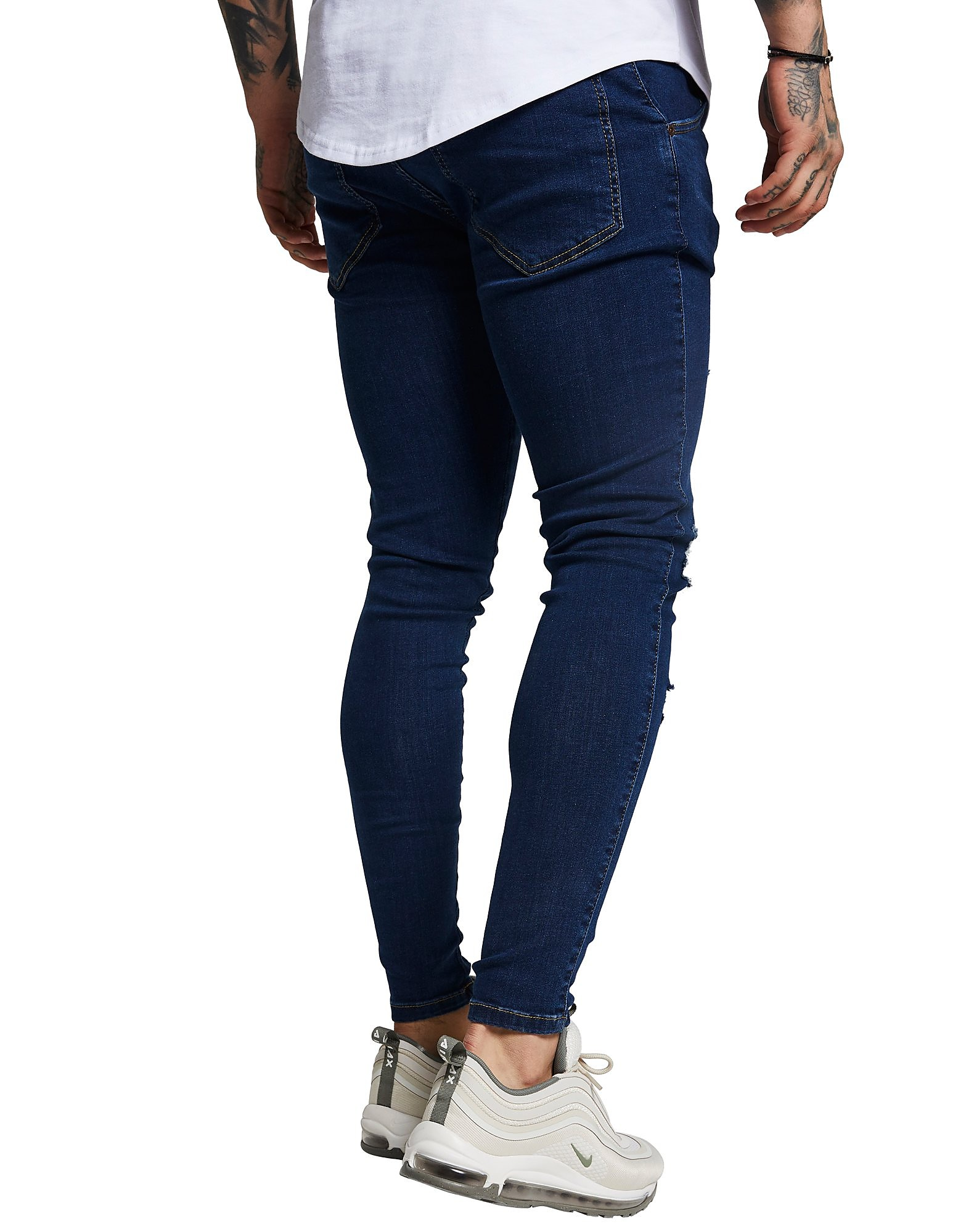 SikSilk Distressed Jeans