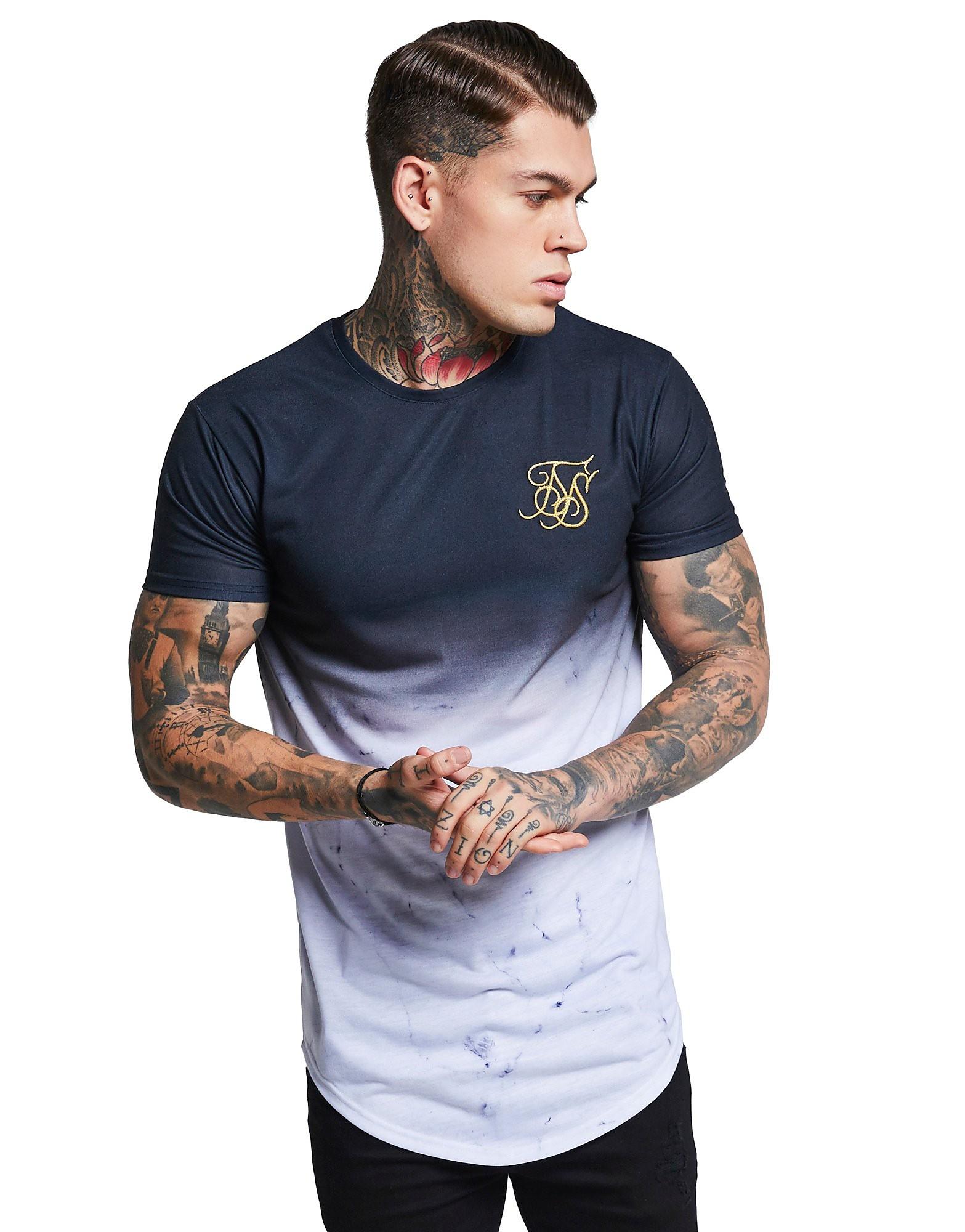 SikSilk Marble Fade T-Shirt