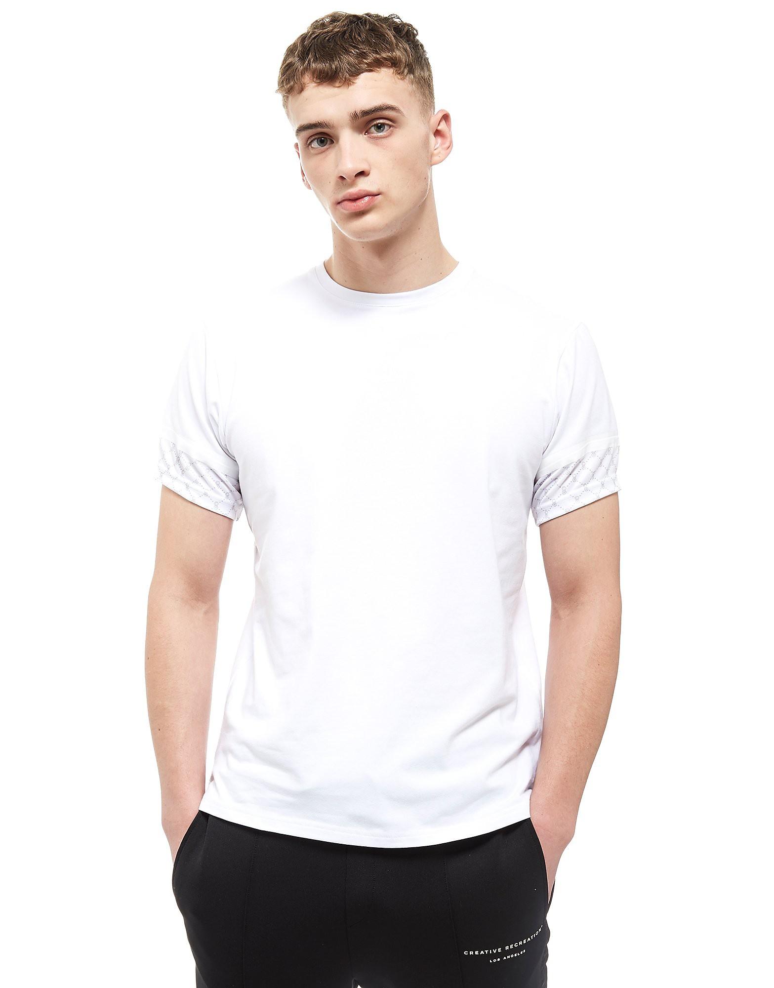 Creative Recreation House Pattern T-Shirt Heren - Wit - Heren
