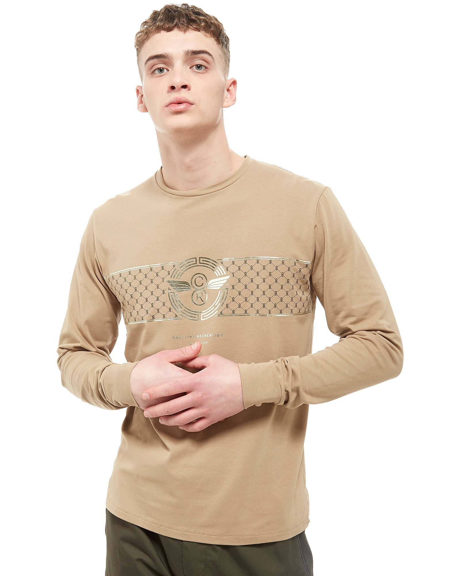 Creative Recreation House Banner Long Sleeve T-Shirt Heren