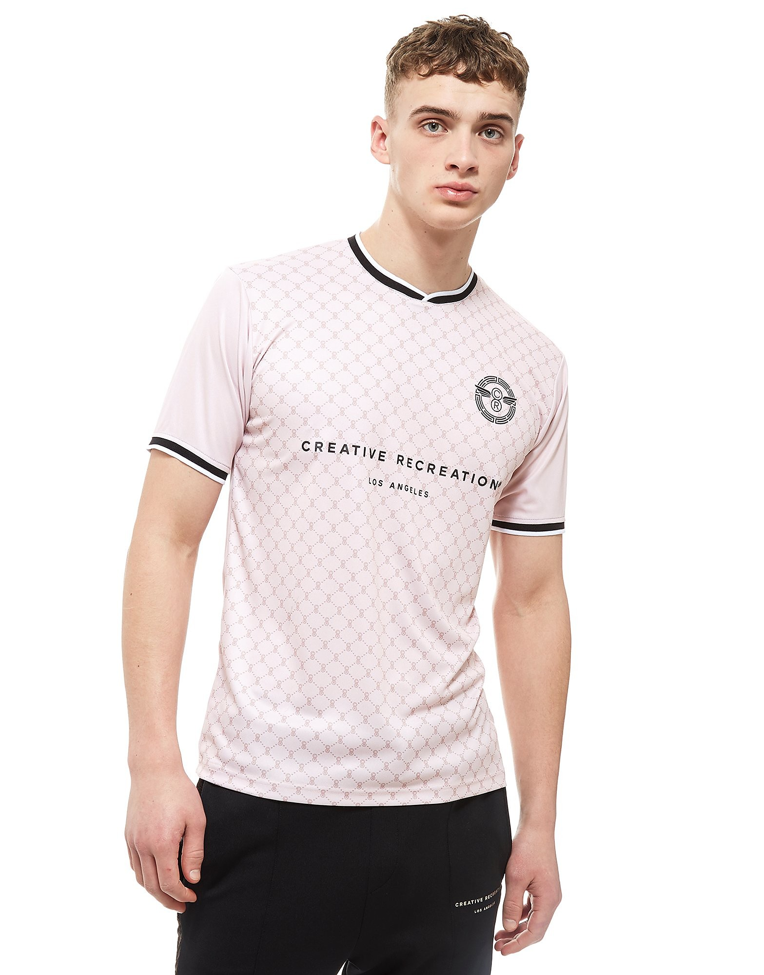 Creative Recreation House Pattern Soccer Shirt Heren