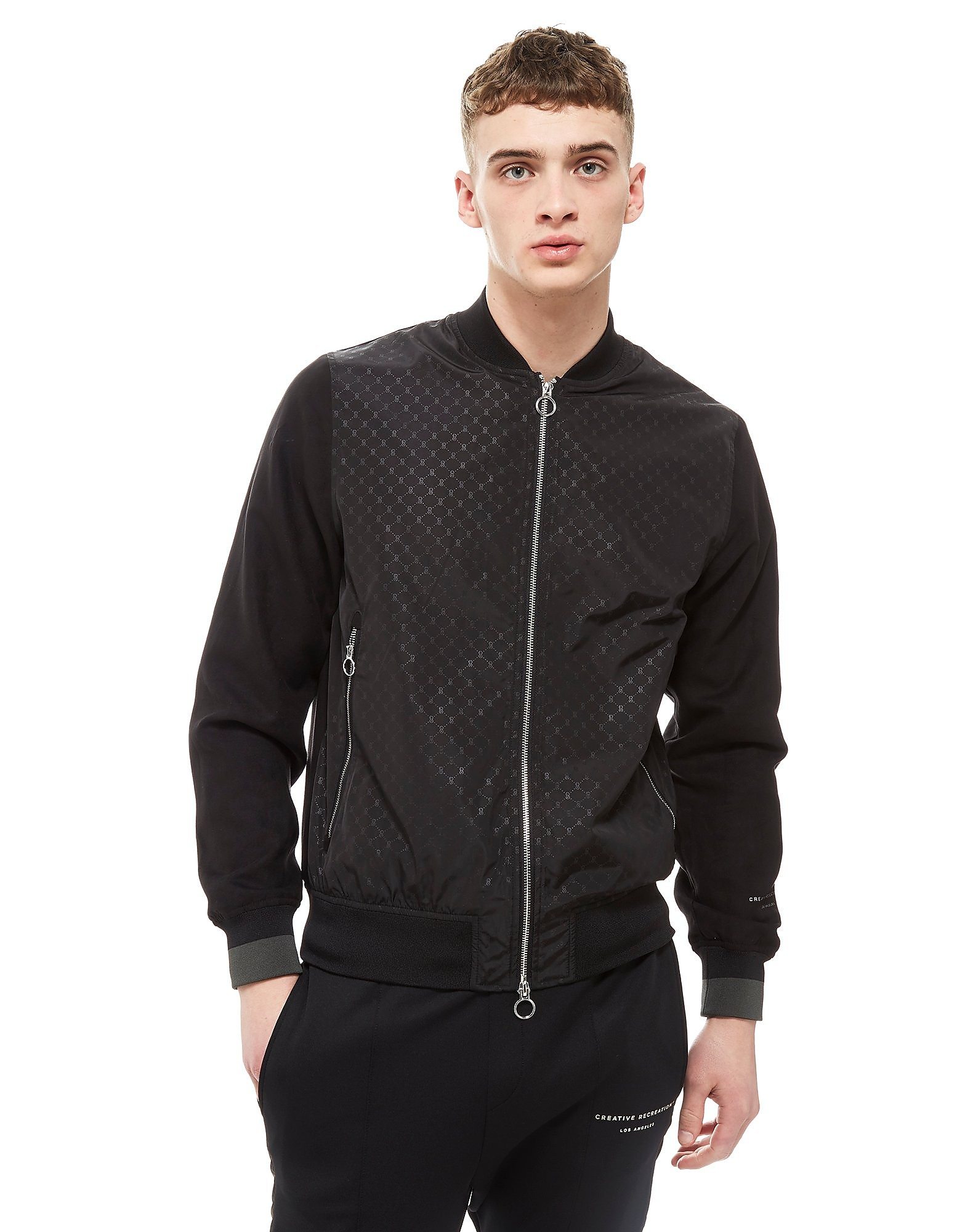 Creative Recreation Veste Bomber House Pattern Homme