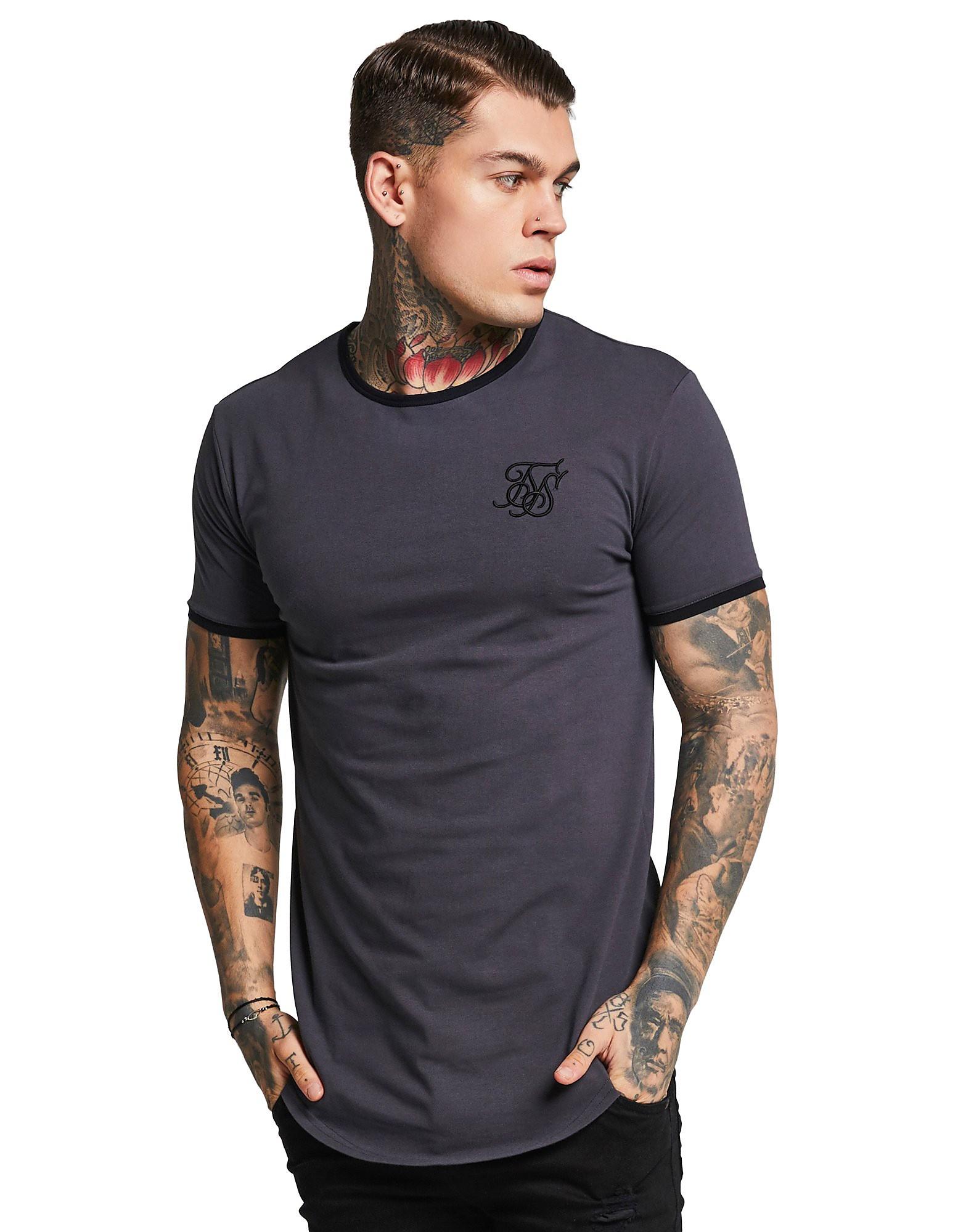 SikSilk Short Sleeve Ringer T-Shirt