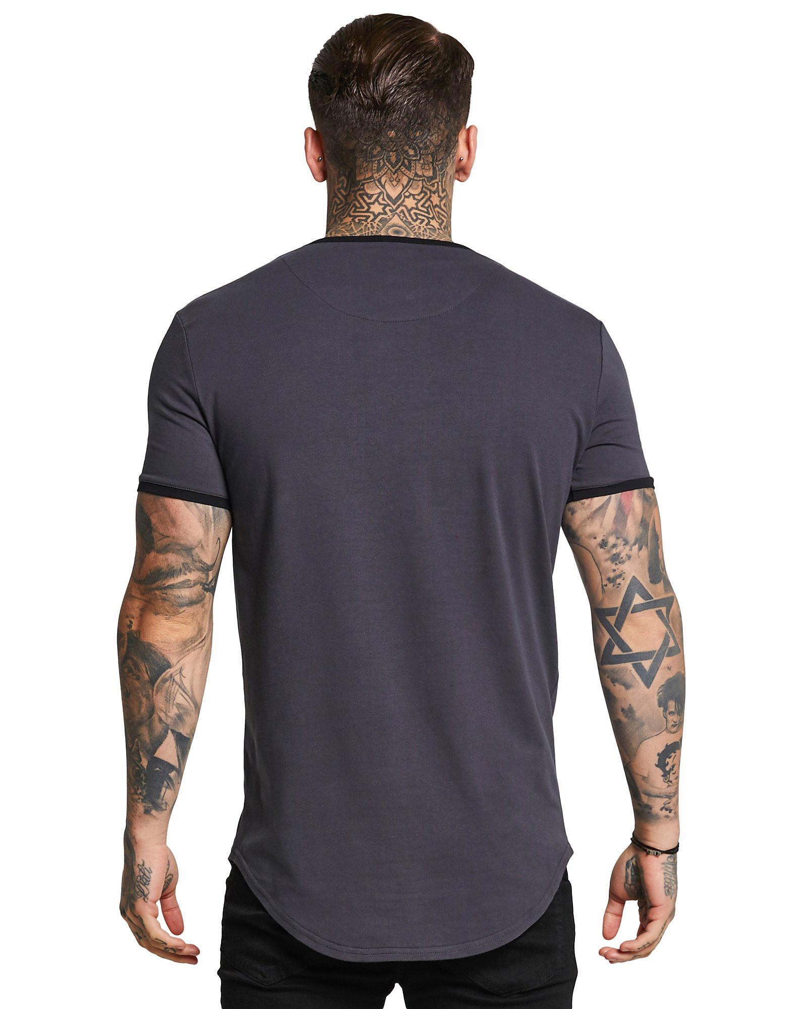 SikSilk Short Sleeve Ringer T-Shirt