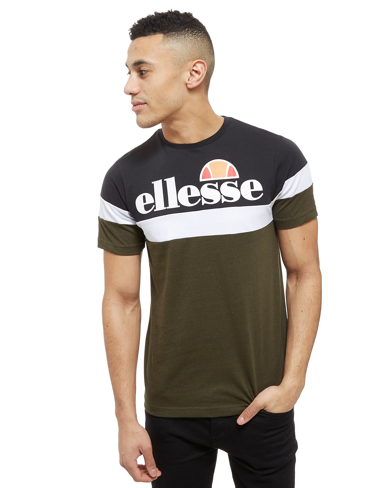 Ellesse Rexel Colourblock T-Shirt Heren