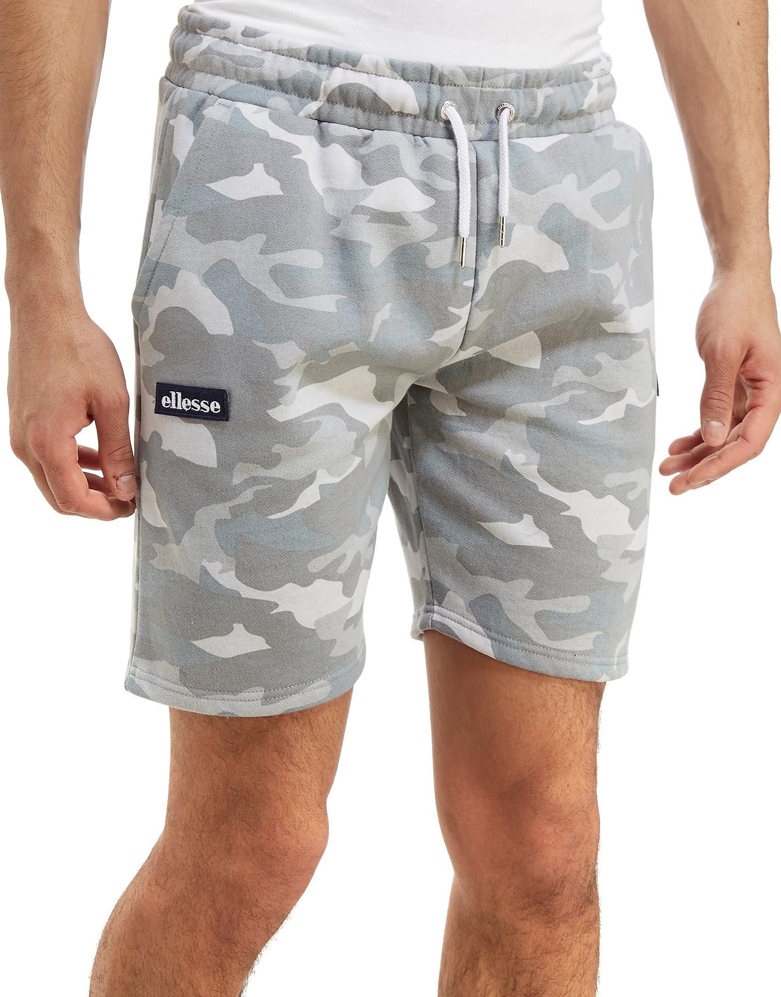 Ellesse Noli Camo Fleece Shorts Herre