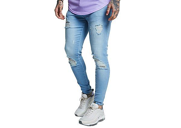 SikSilk Distressed Jeans Heren - Heren