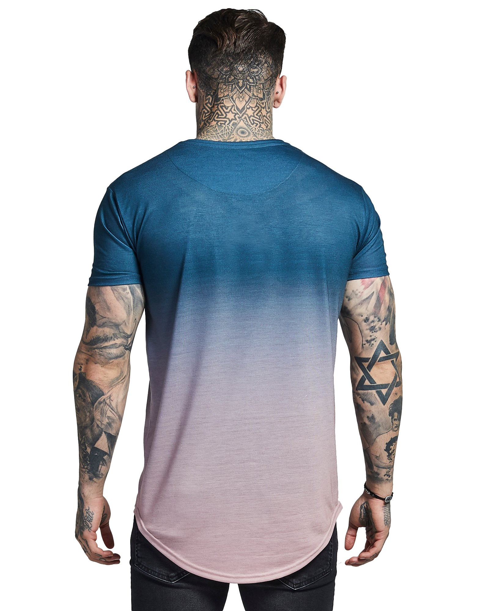 SikSilk Short Sleeve Fade T-Shirt