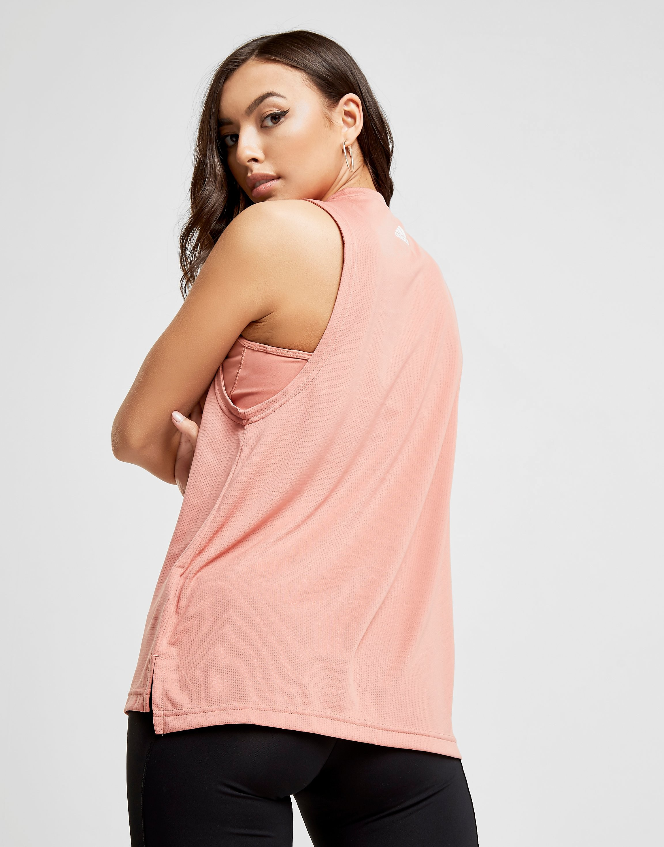adidas Mesh Muscle Tank Top