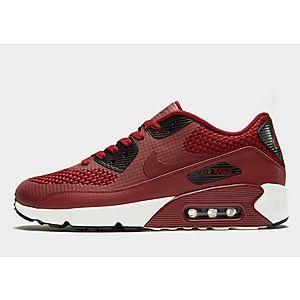 nike air max trainers dark red