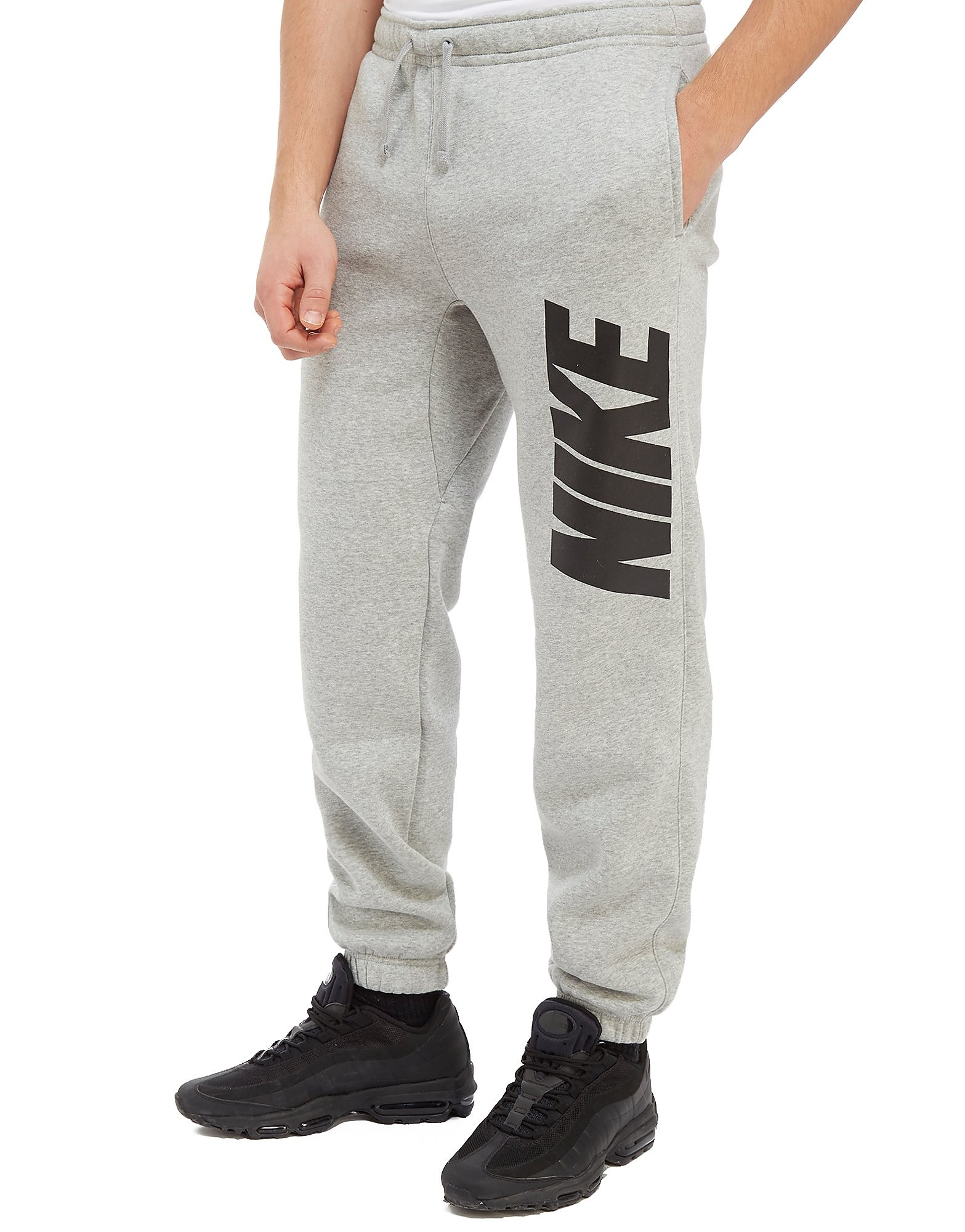 Nike Club Pants - gris/noir, gris/noir