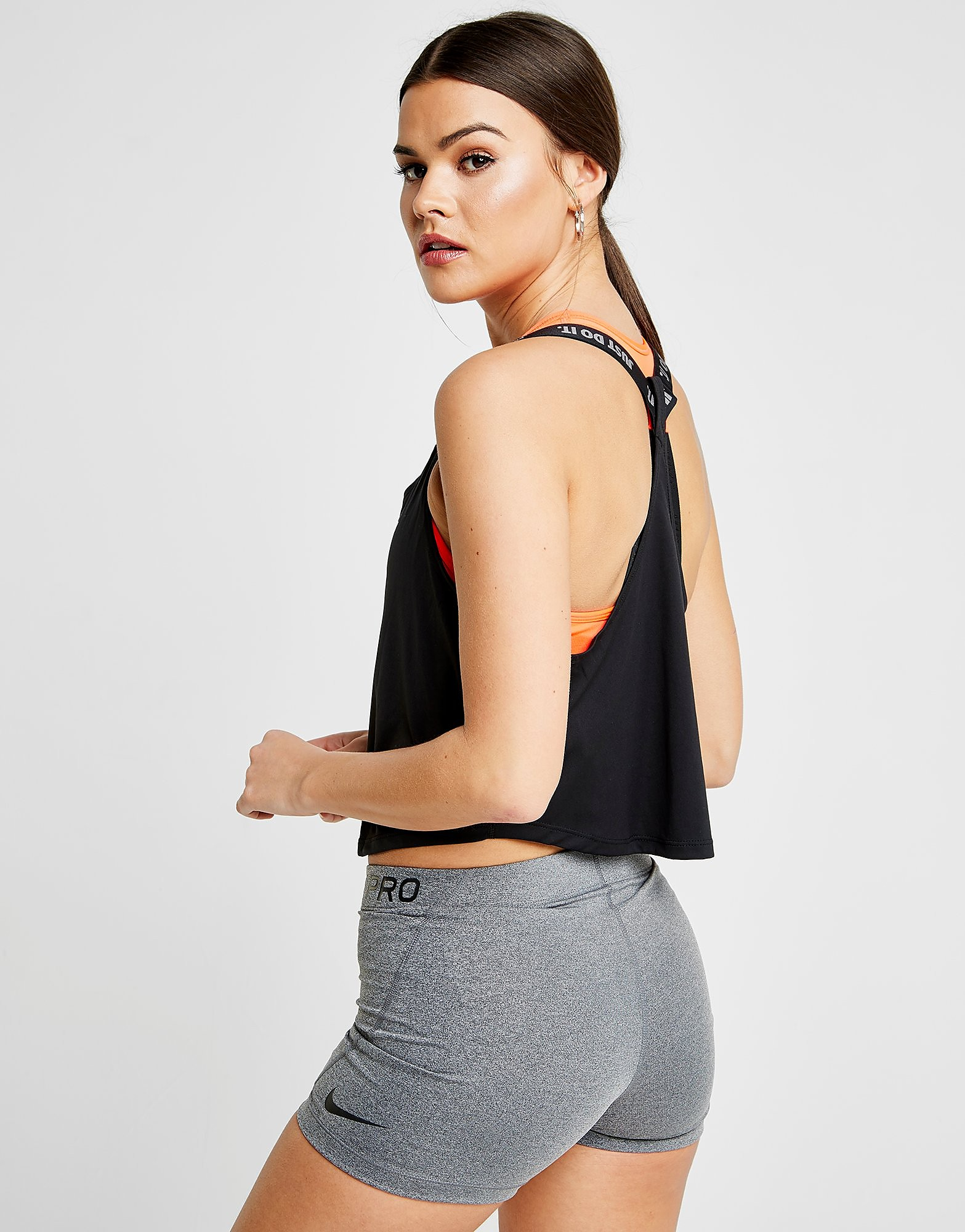 Nike Training Elastika Crop Tank Top