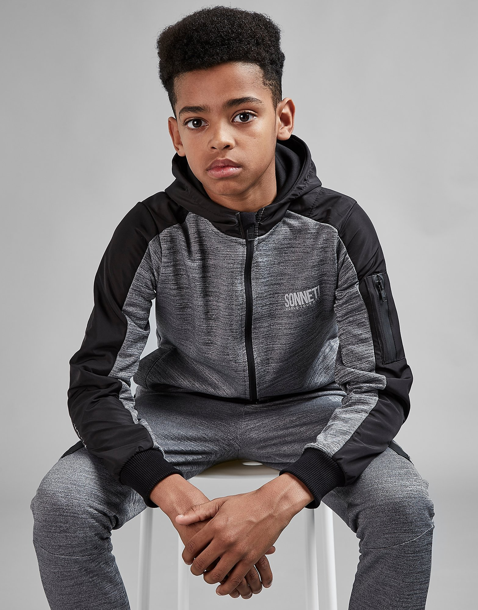 Sonneti Browser Full Zip Hoodie Junior