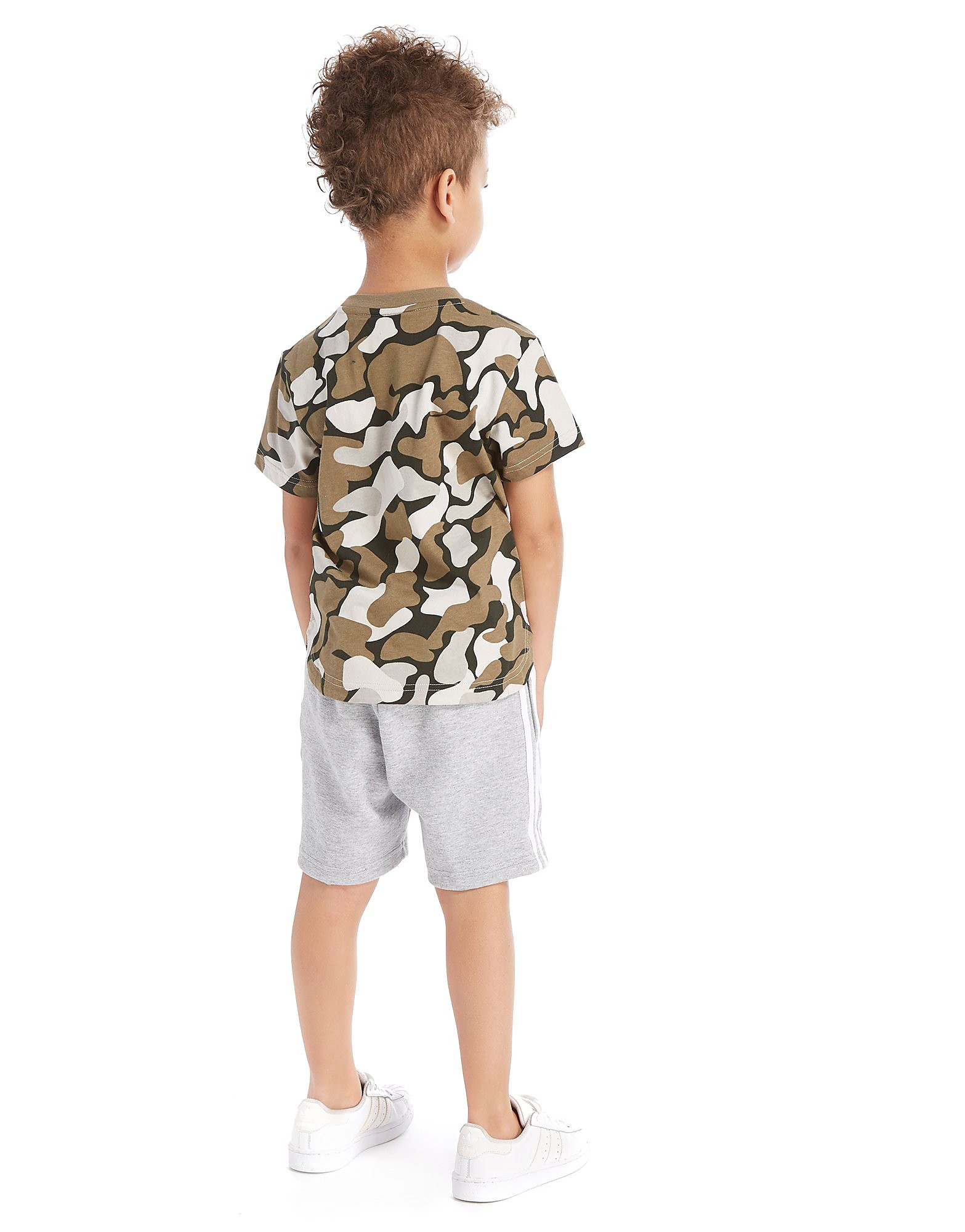 adidas Originals Camo T-Shirt/Shorts Set Children