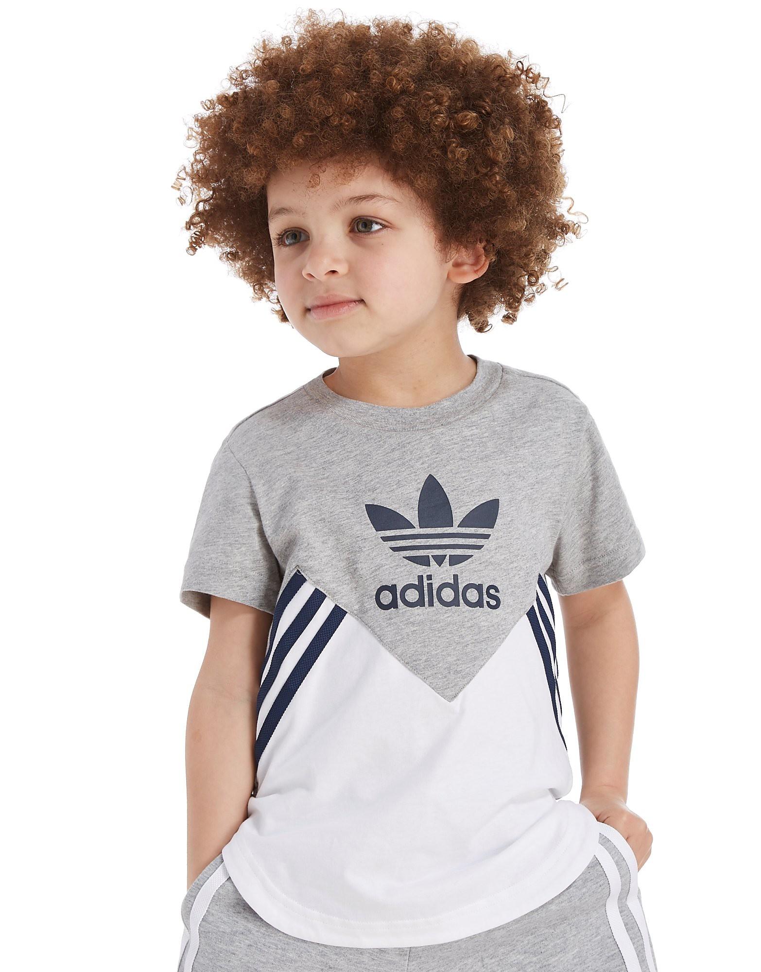 adidas Originals MOA T-Shirt Kinderen - alleen bij JD - Wit - Kind