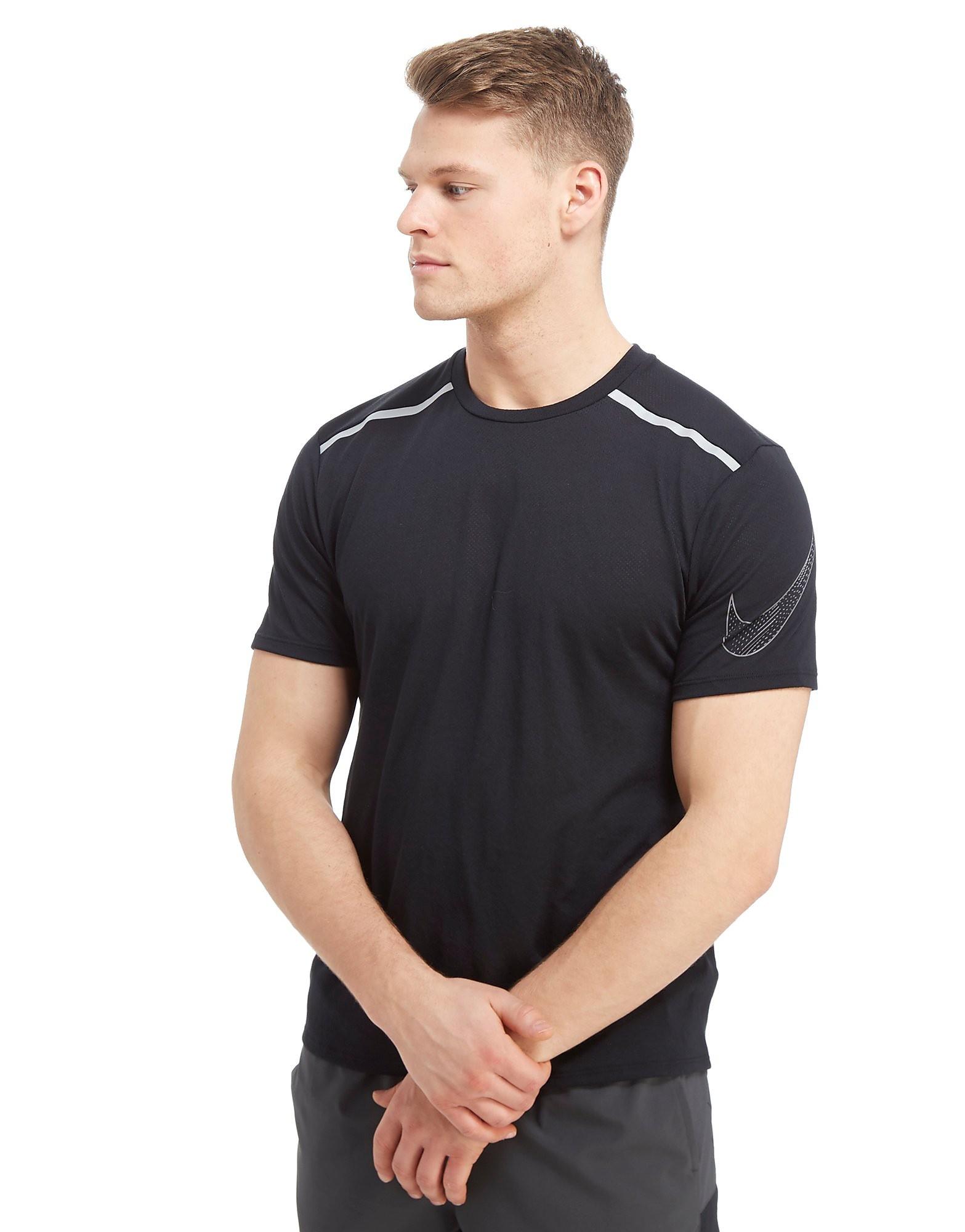 Nike Rise Short Sleeve T-Shirt Heren - Zwart - Heren