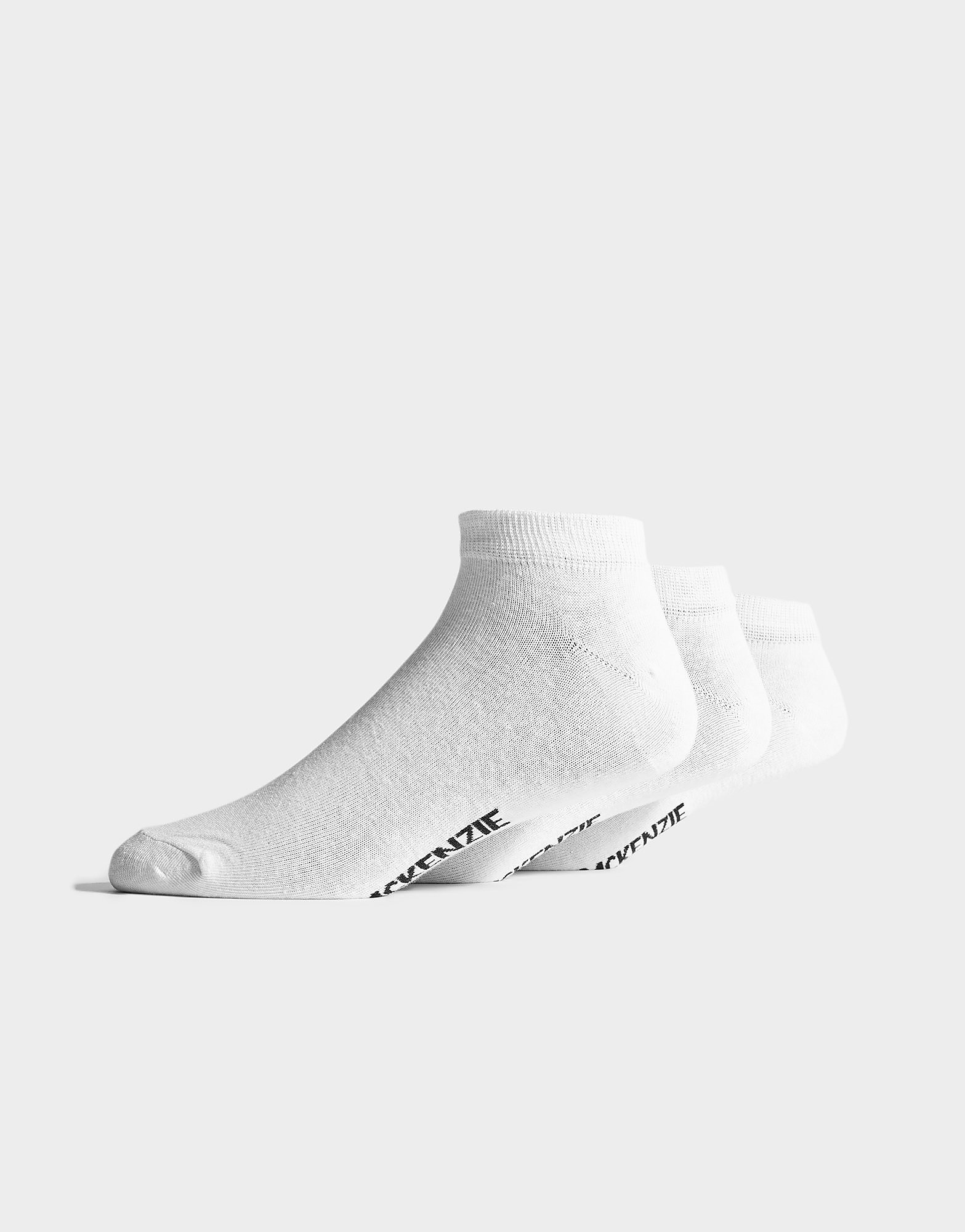 McKenzie 3 Pack Low Ped Socks