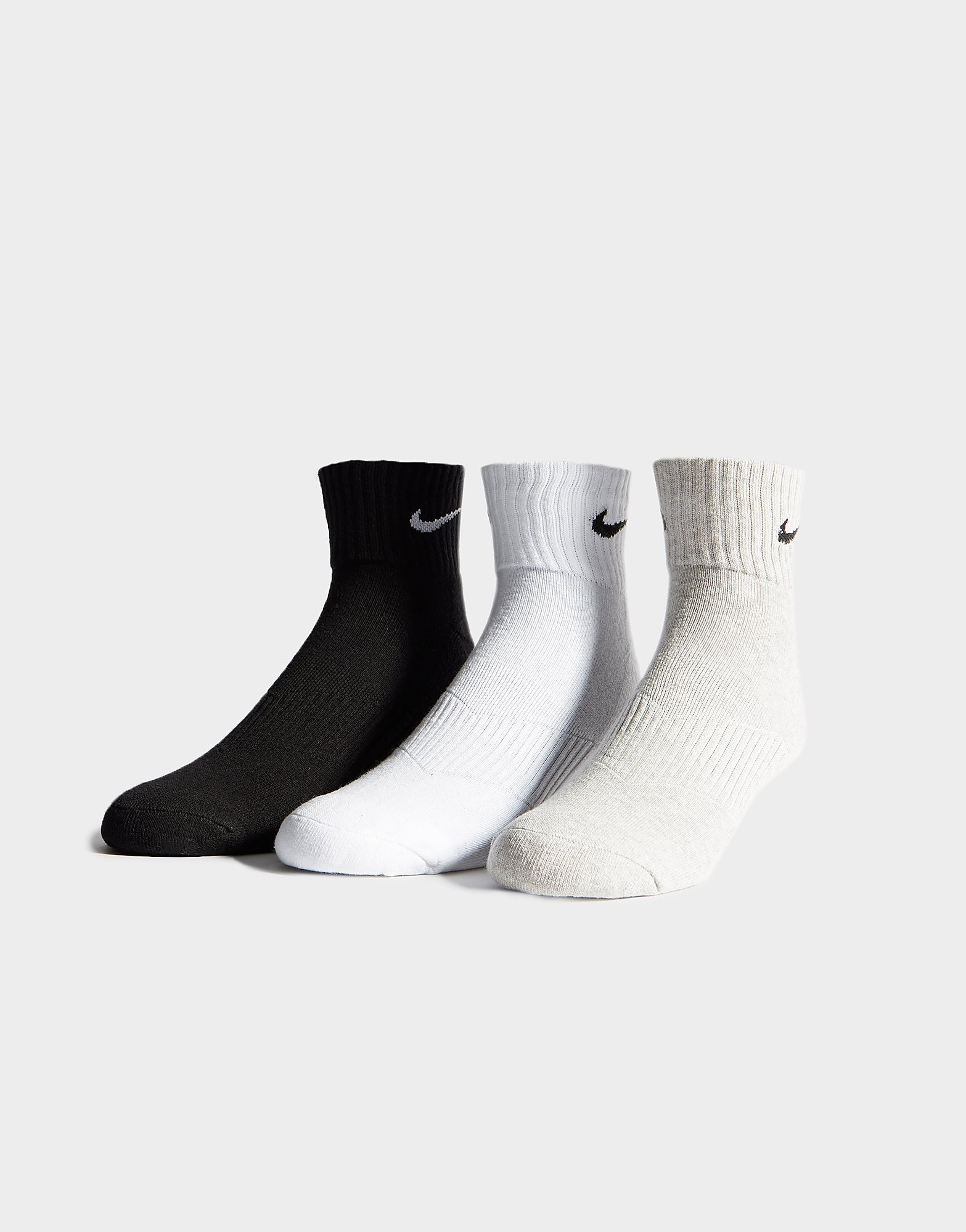 Nike 3 Pack Quarter Socks