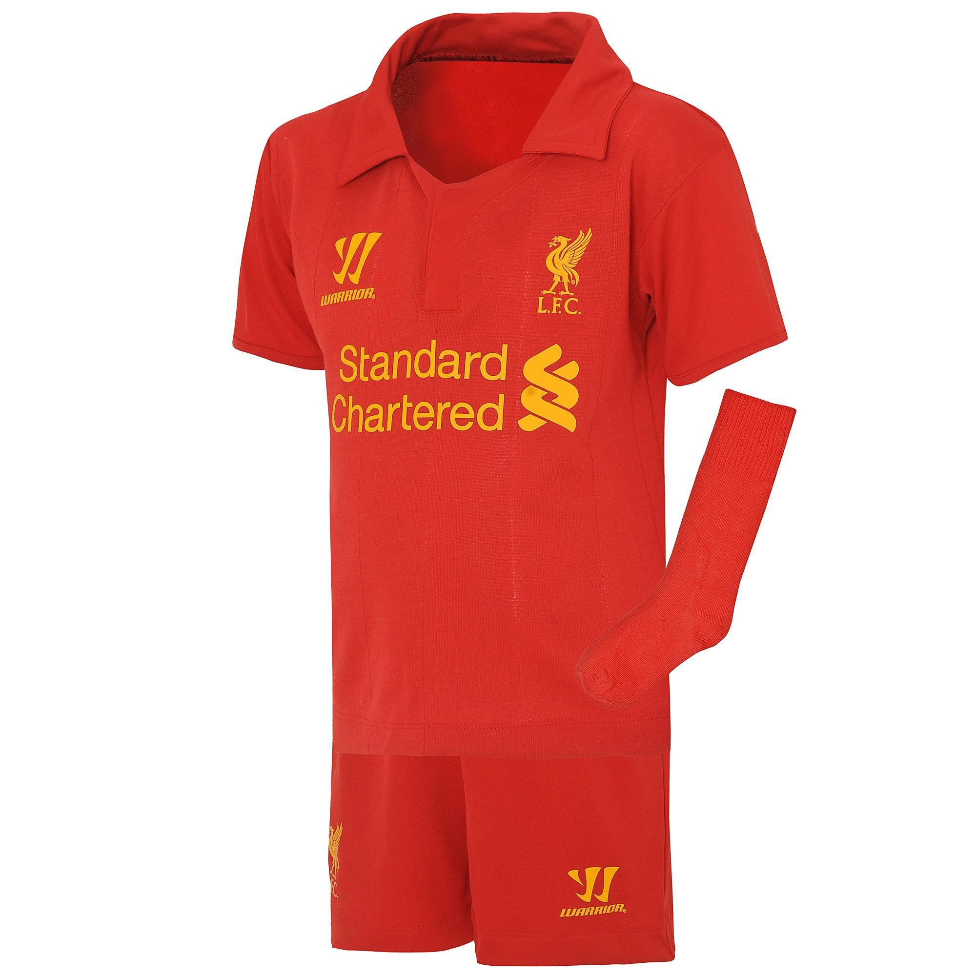 Warrior Sports Liverpool Home Kit 2012/13 Childrens