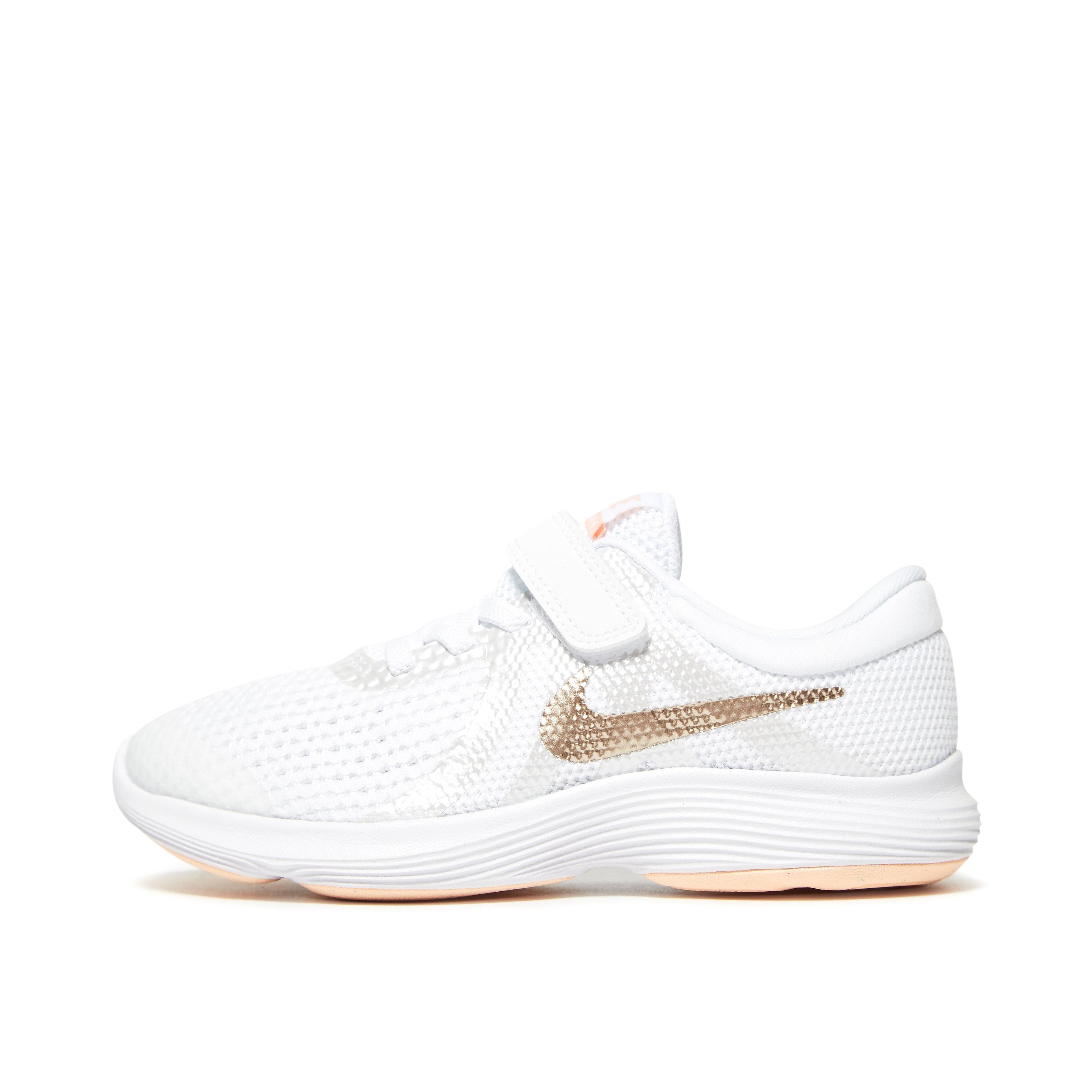Nike Revolution 4 Kinderen - Wit - Kind