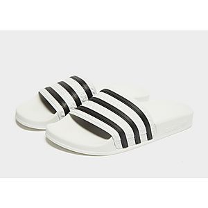 low priced f1129 ddd38 adidas Originals Adilette Slides Womens adidas Originals Adilette Slides  Womens