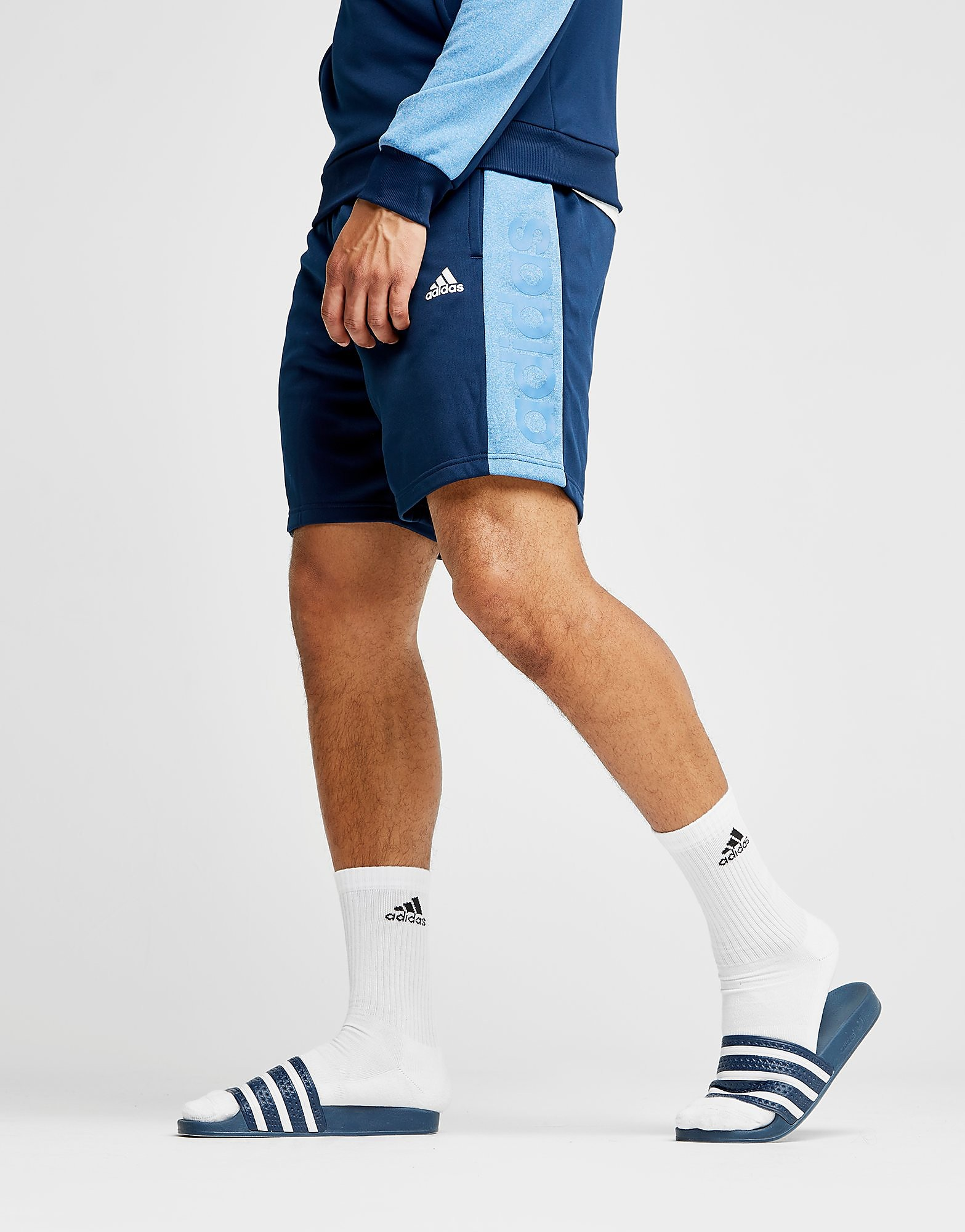adidas Speed Poly Shorts Heren - Blauw - Heren